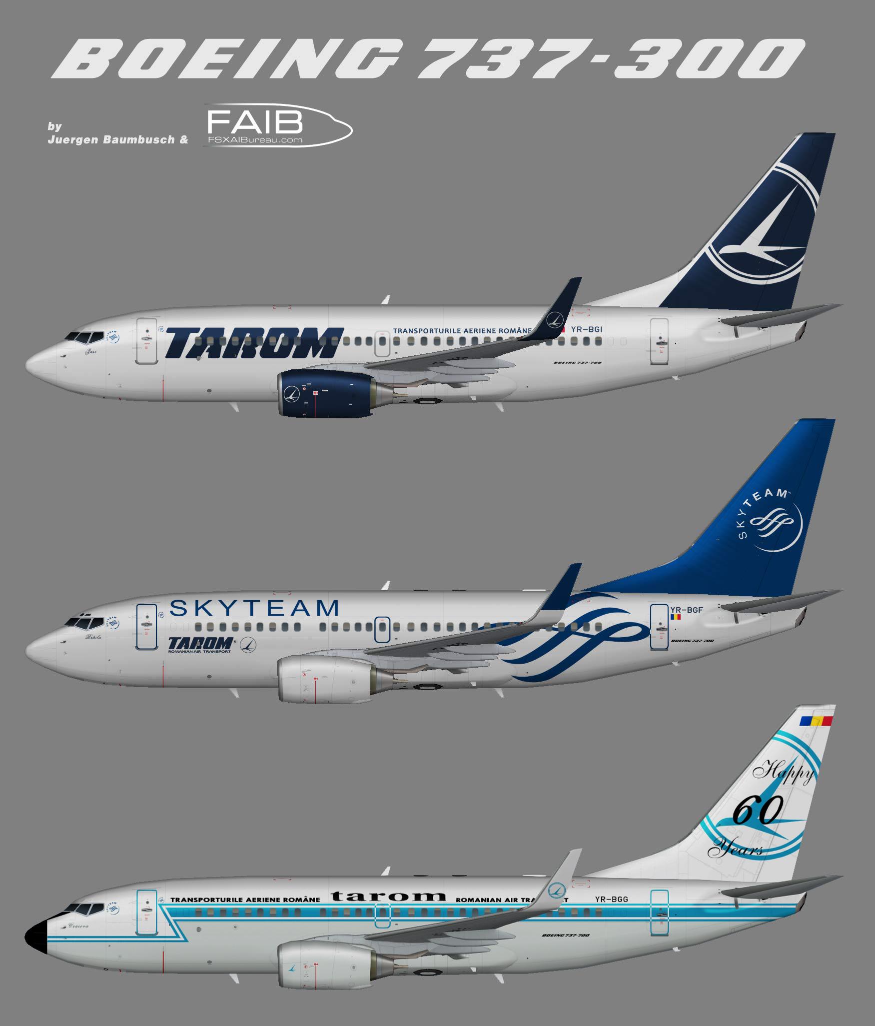TAROM Boeing 737-700w