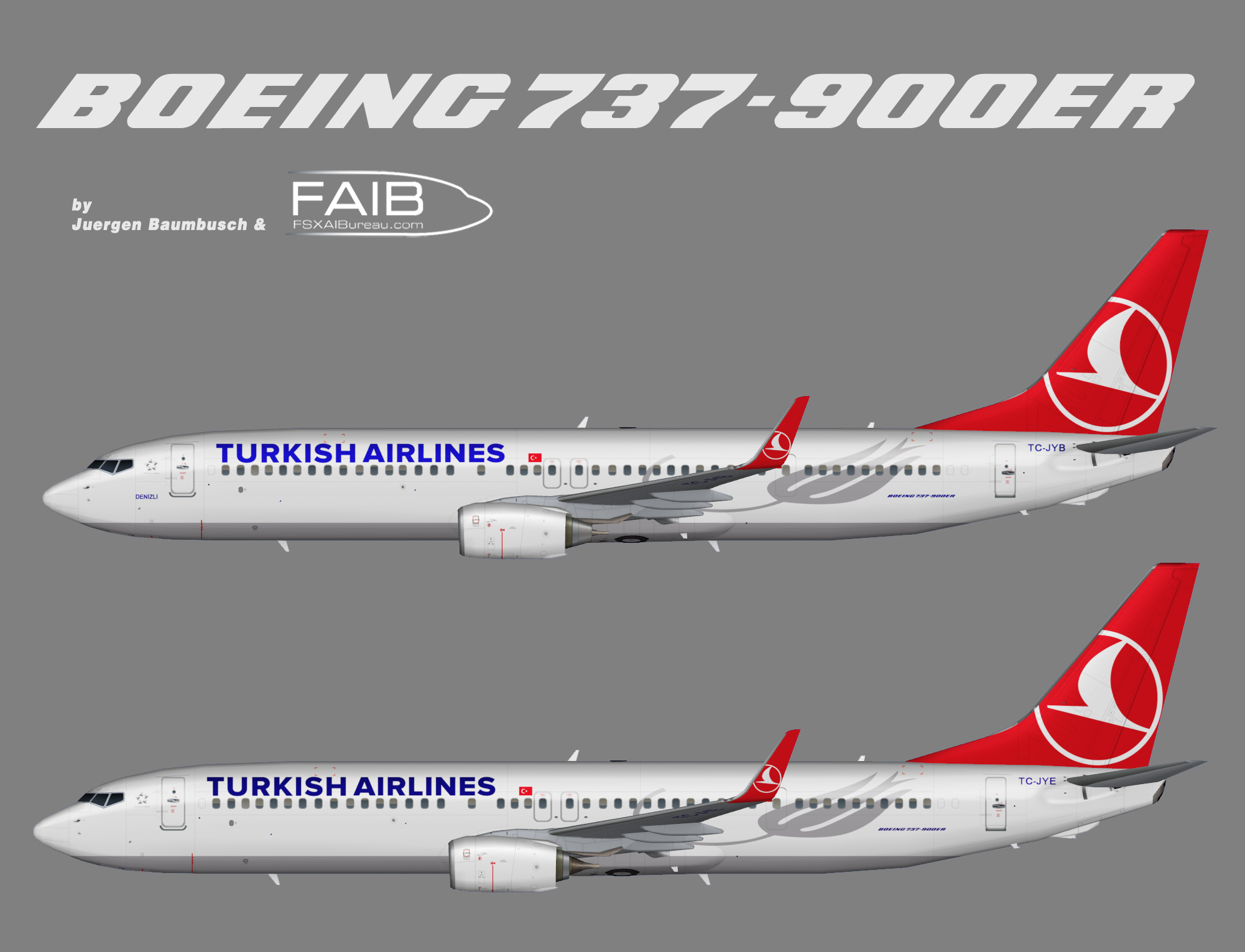 Turkish Airlines Boeing 737-900ER