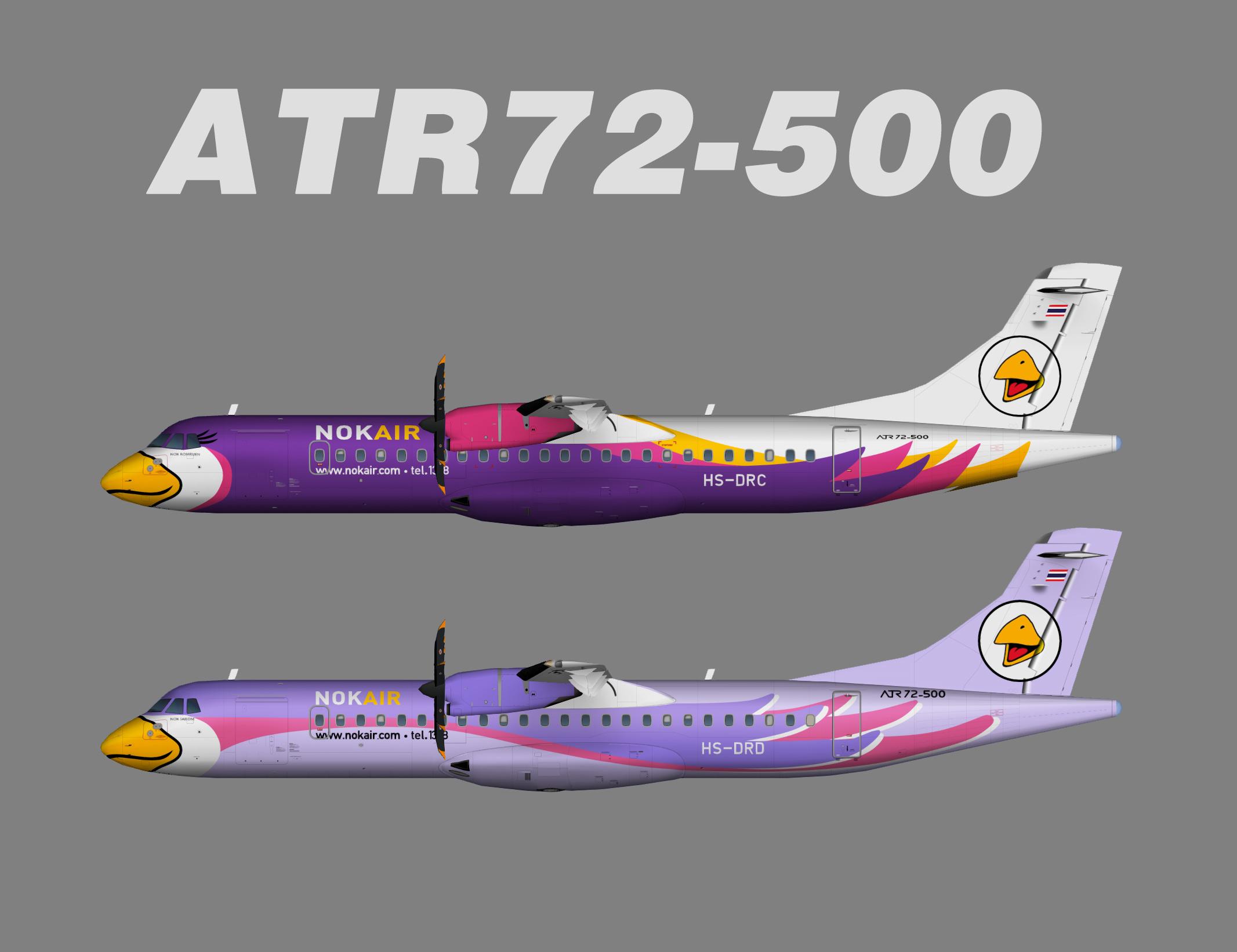 Nok Air ATR 72-200/500