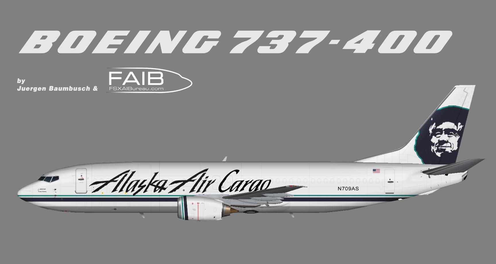 Alaska Airlines Cargo Boeing 737 400 Juergen S Paint Hangar