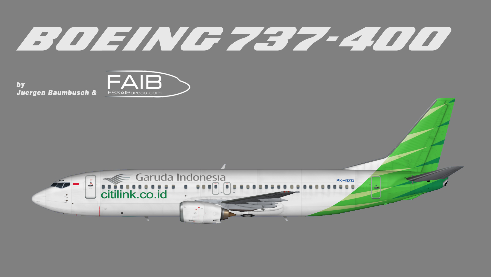 Citilink boeing 737 400 juergens paint hangar teaser reheart Image collections