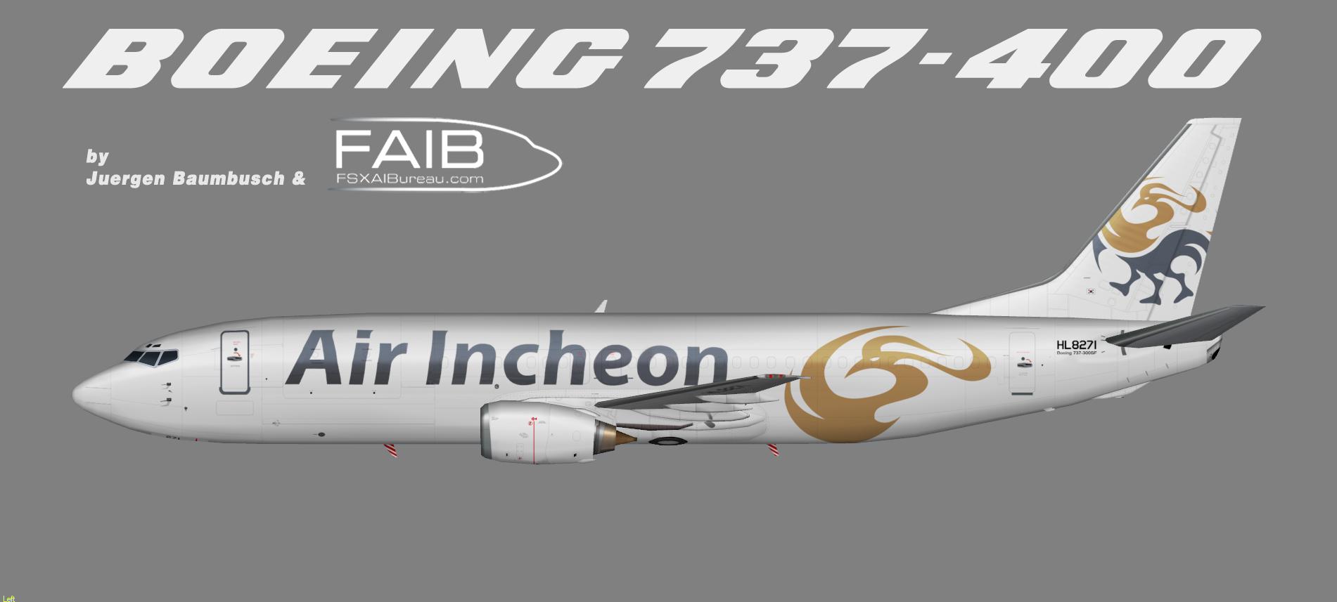 Air Incheon Boeing 737-400F