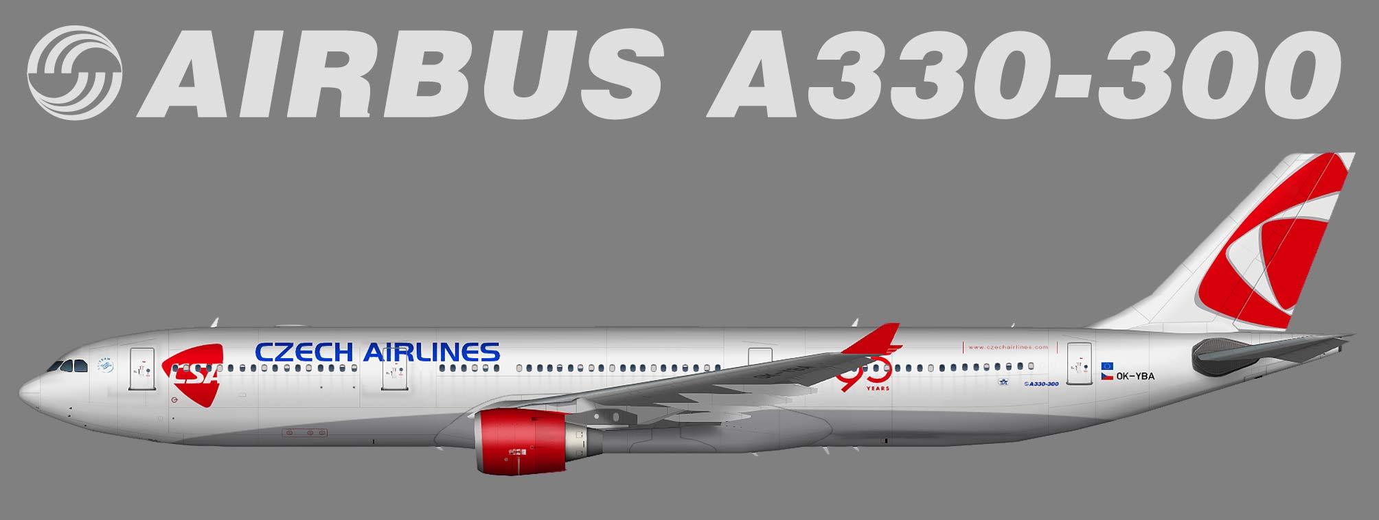 A330-300 CSA Czech Airlines