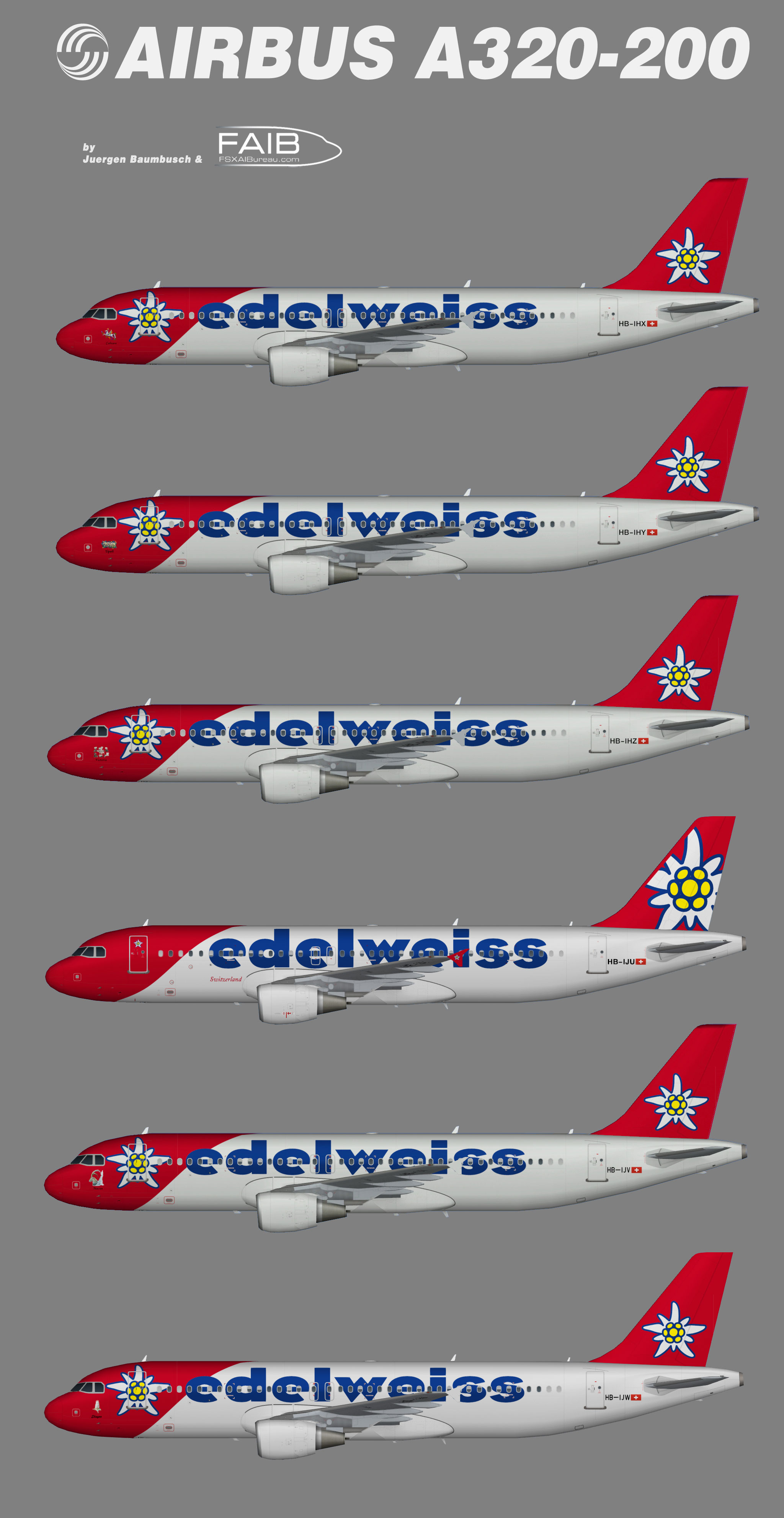 Edelweiss Airbus A320