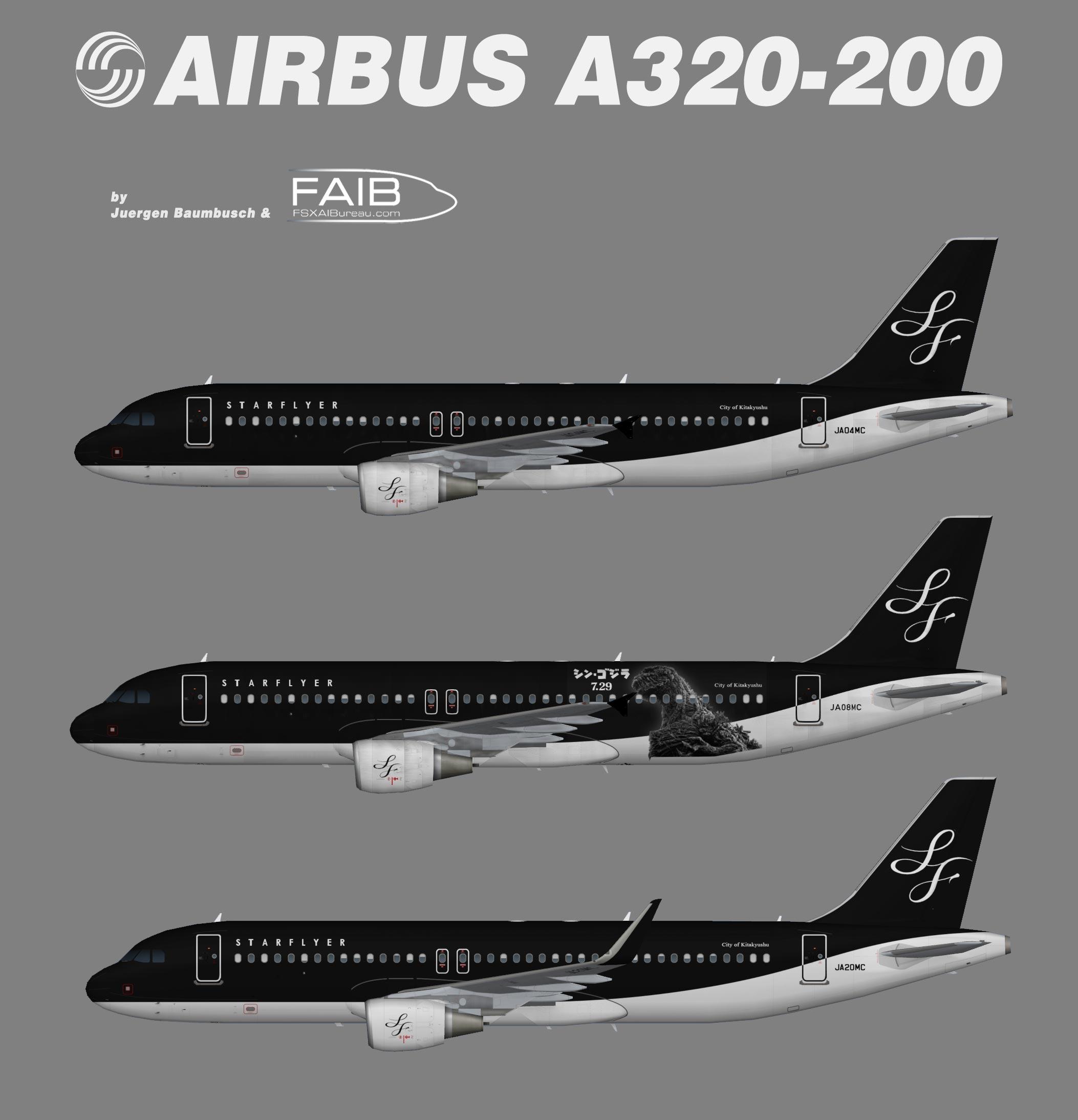 StarFlyer Airbus A320