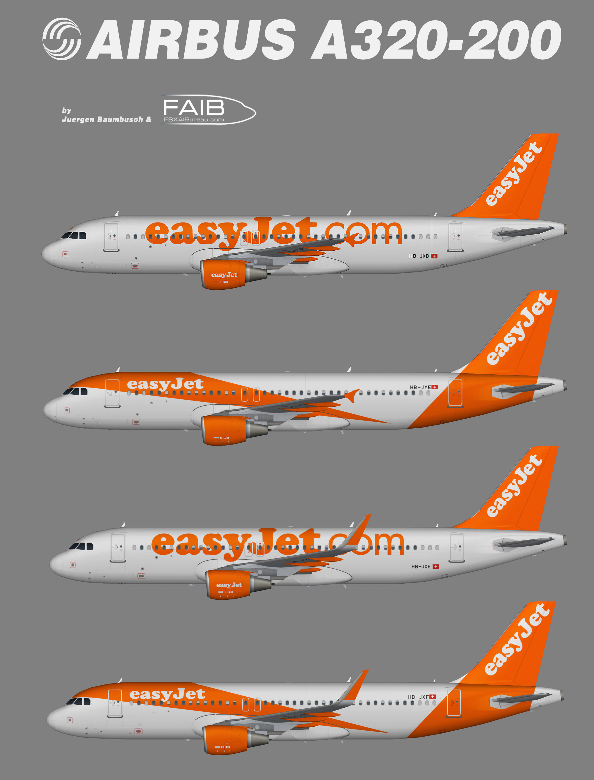 Easyjet Swiss Airbus A320