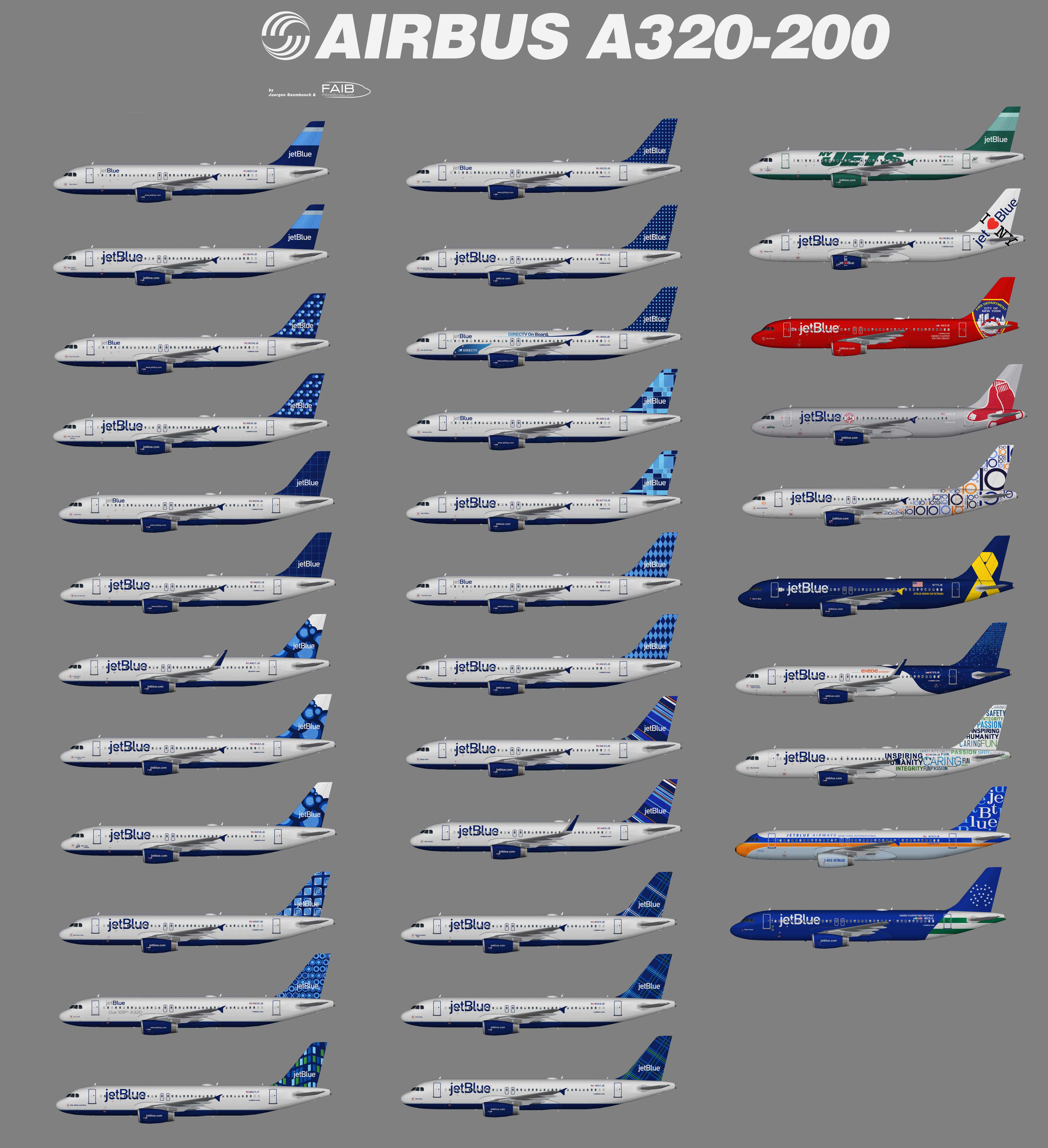 JetBlue Airways Airbus A320