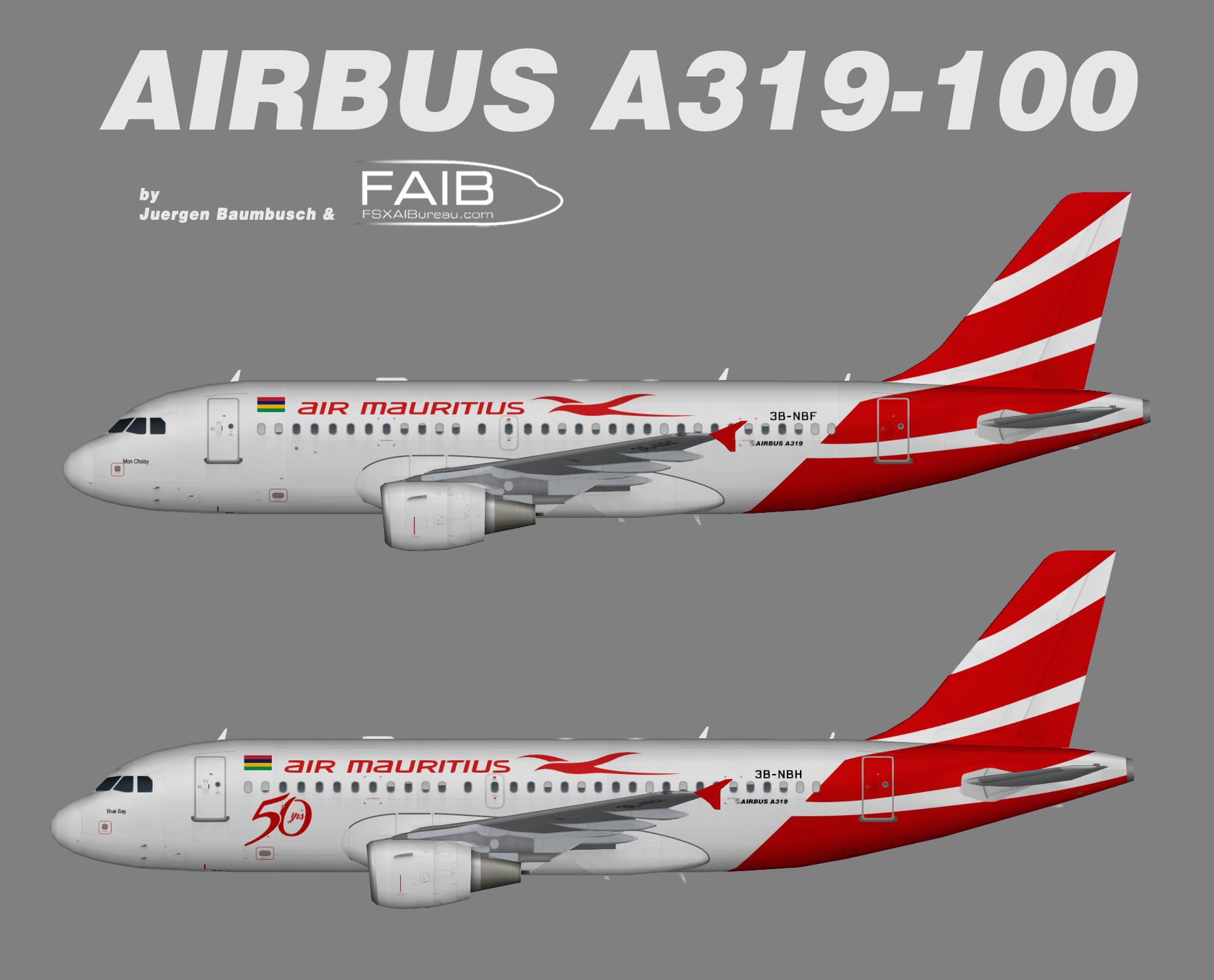 Air Mauritius Airbus A319