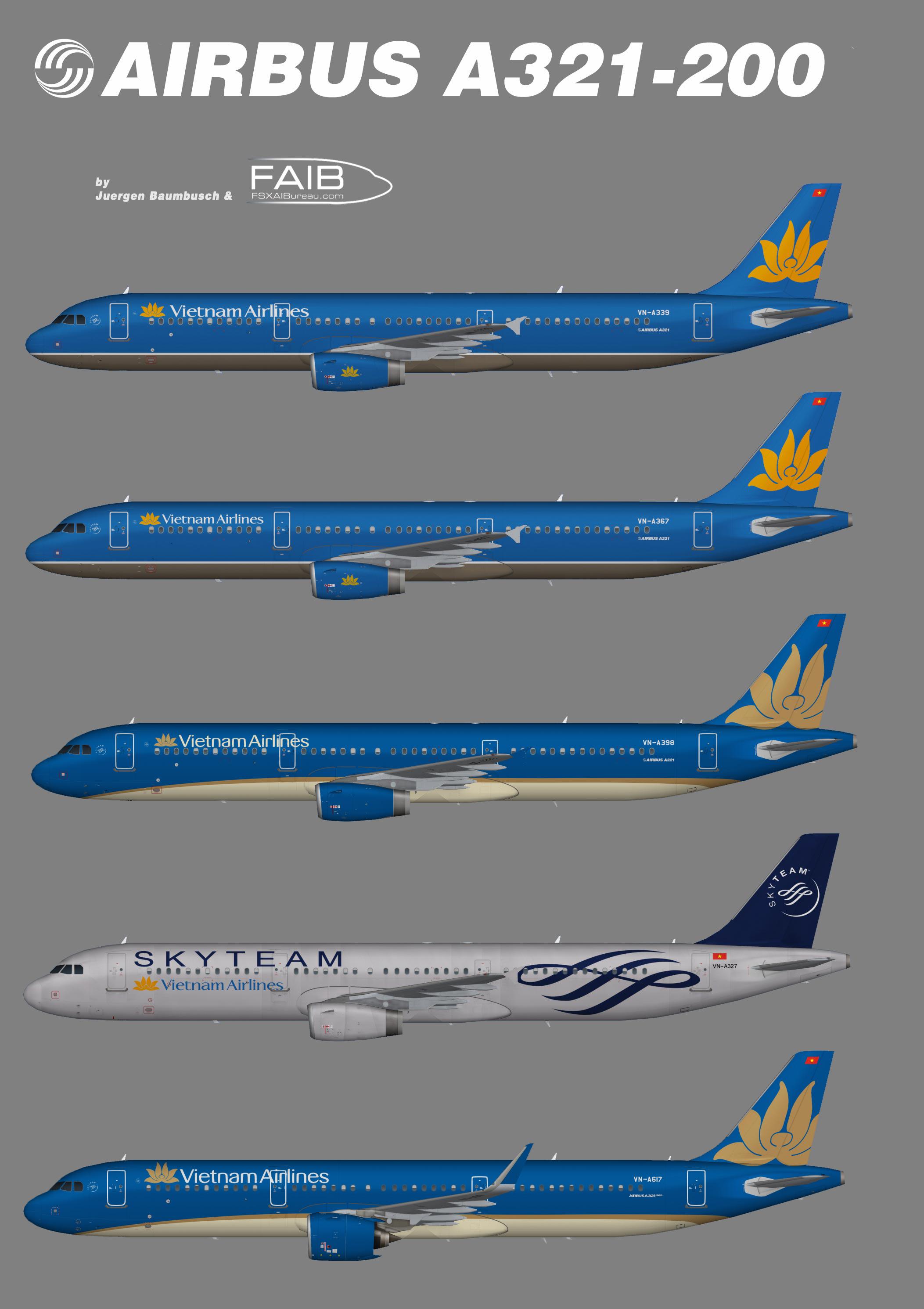 Vietnam Airlines Airbus A321