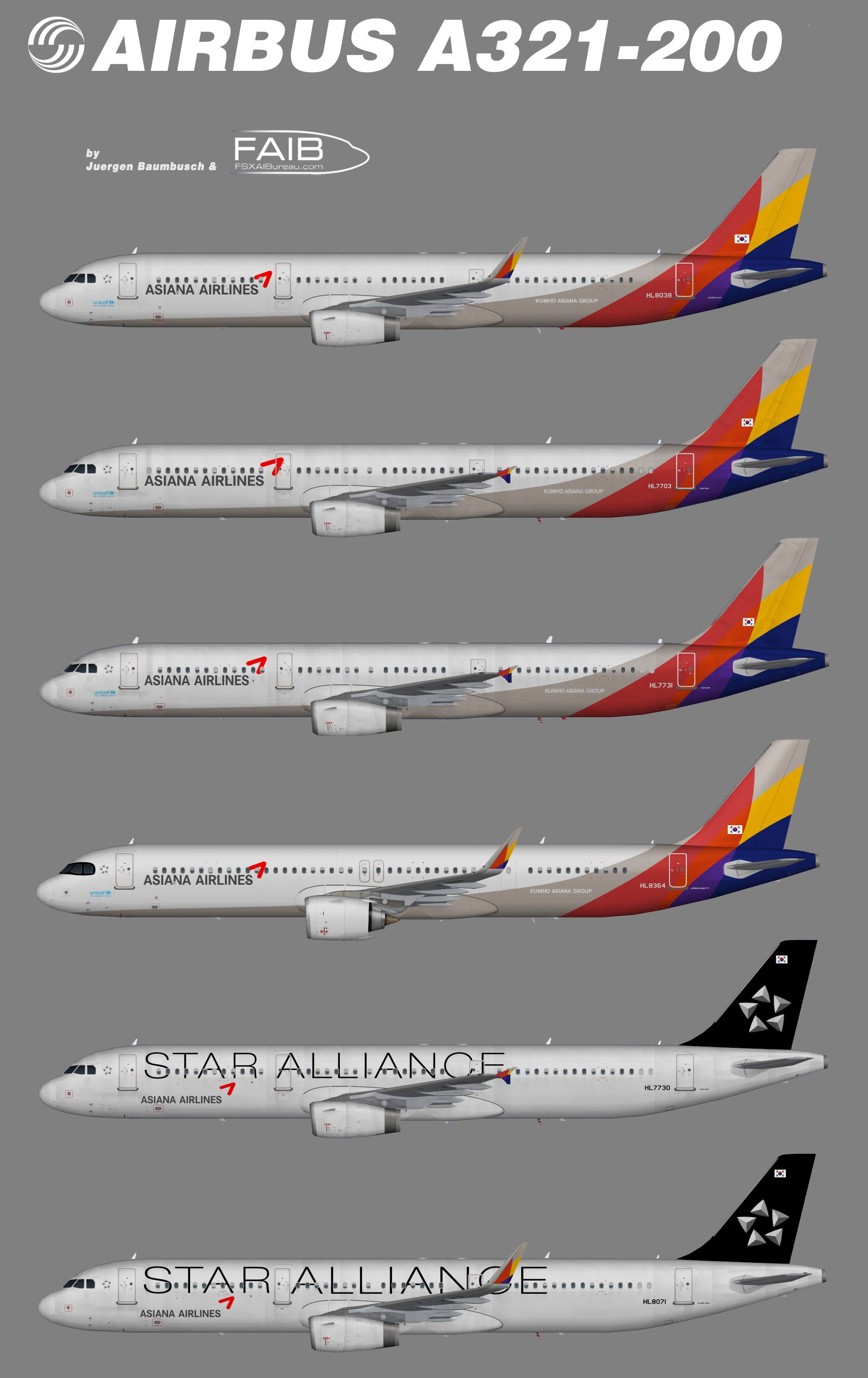 Asiana Airbus A321-200