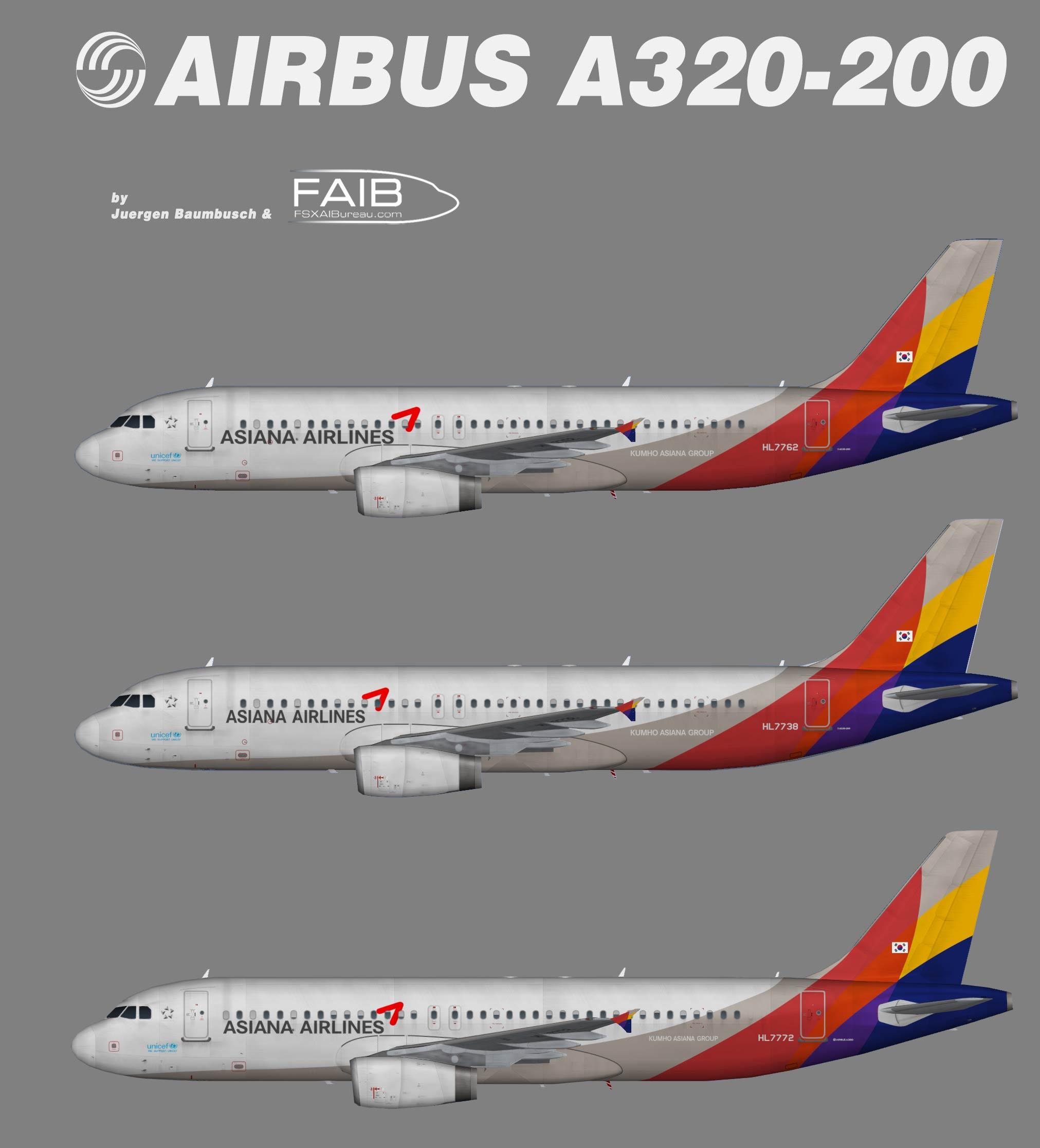 Asiana Airbus A320-200