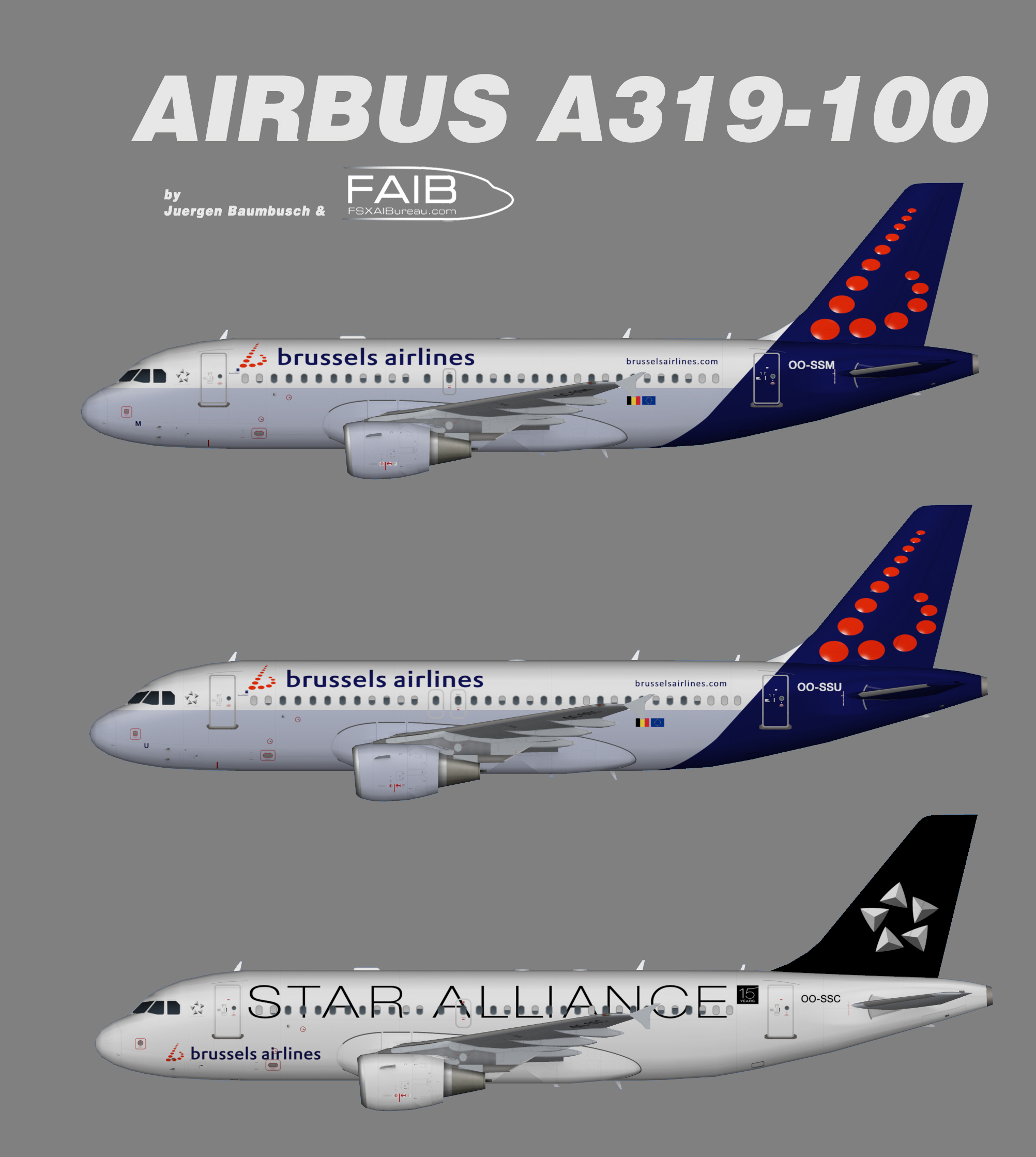 Brussels Airlines Airbus A319
