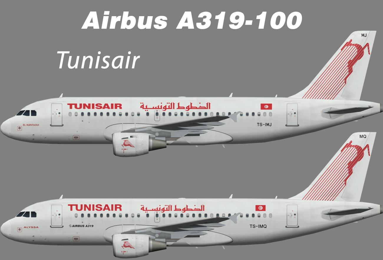 Tunisair Airbus A319-100 – Nils
