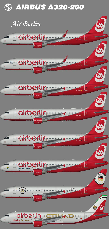 Air Berlin Airbus A320-200 – Nils