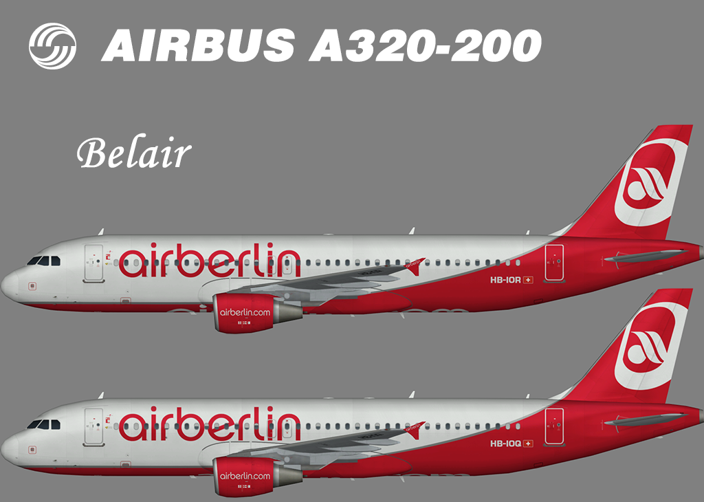 Air Berlin Airbus A320-200 (Belair) – Nils