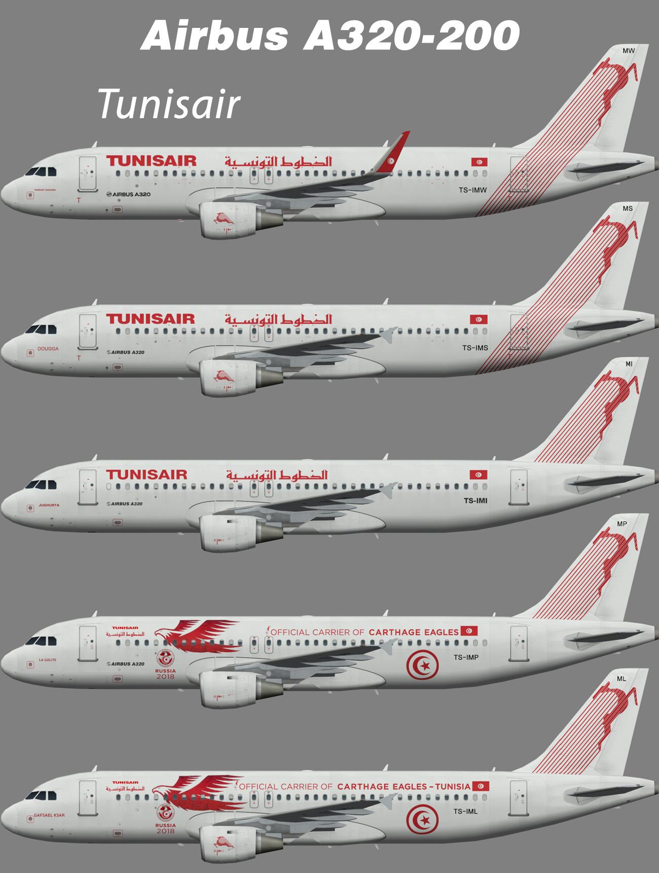 Tunisair Airbus A320-200 – Nils