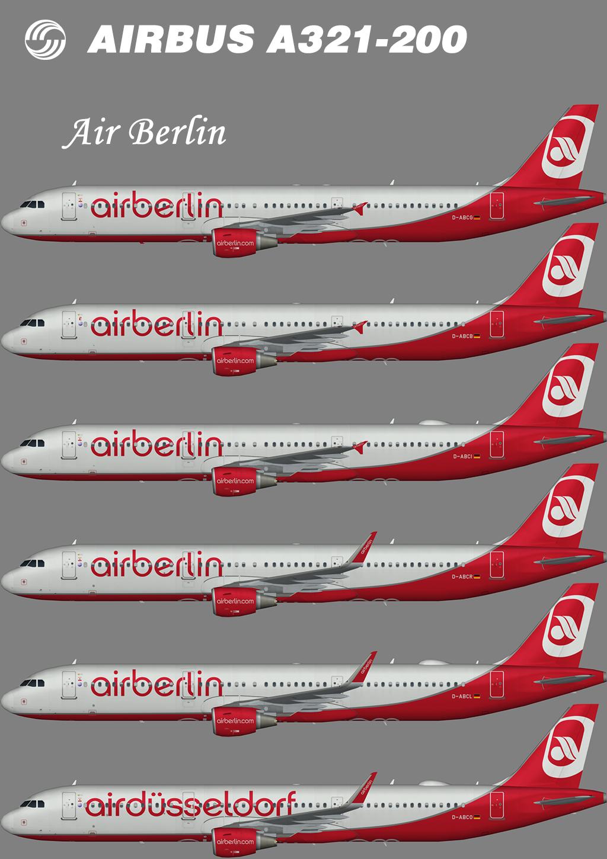 Air Berlin Airbus A321-200 – Nils