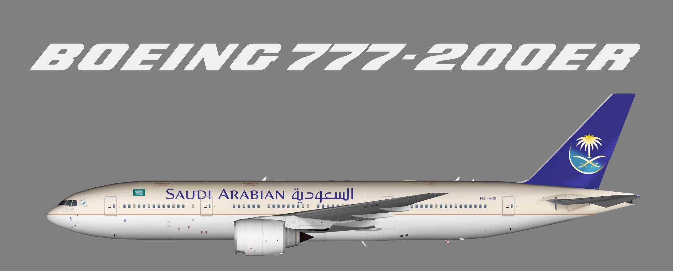 Saudia Boeing 777-200ER