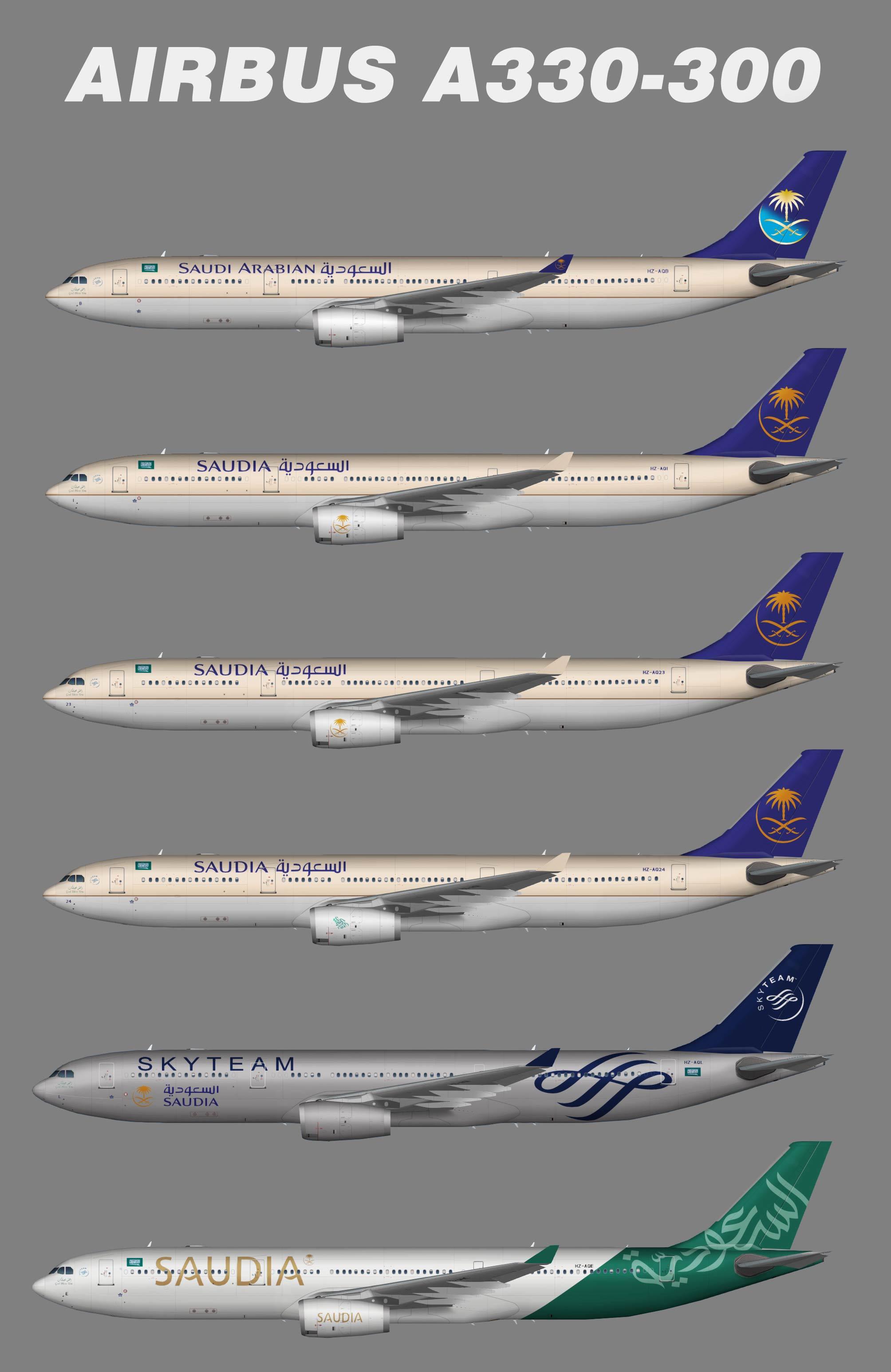 Saudia Airbus A330-300