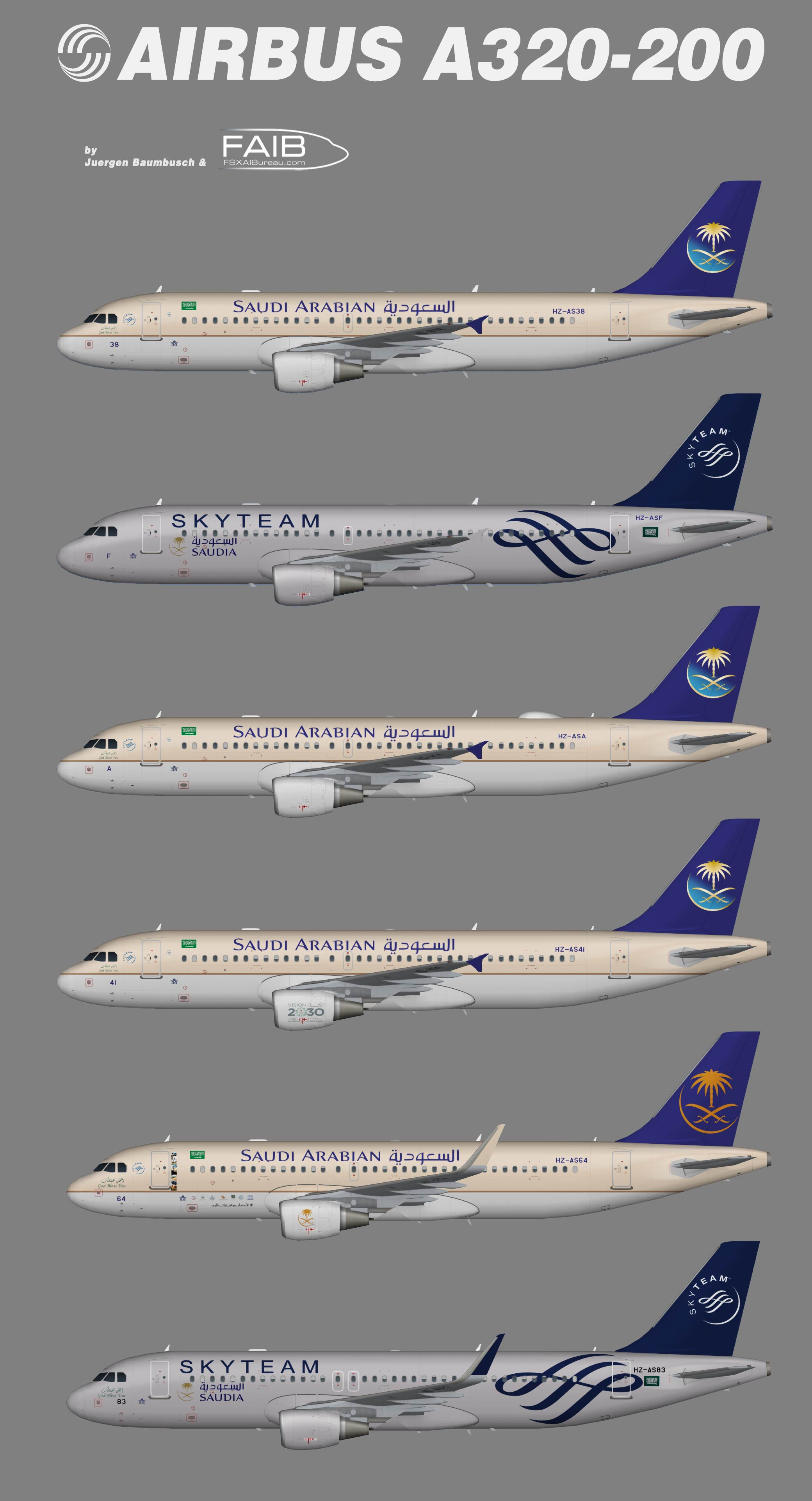 Saudia Airbus A320-200