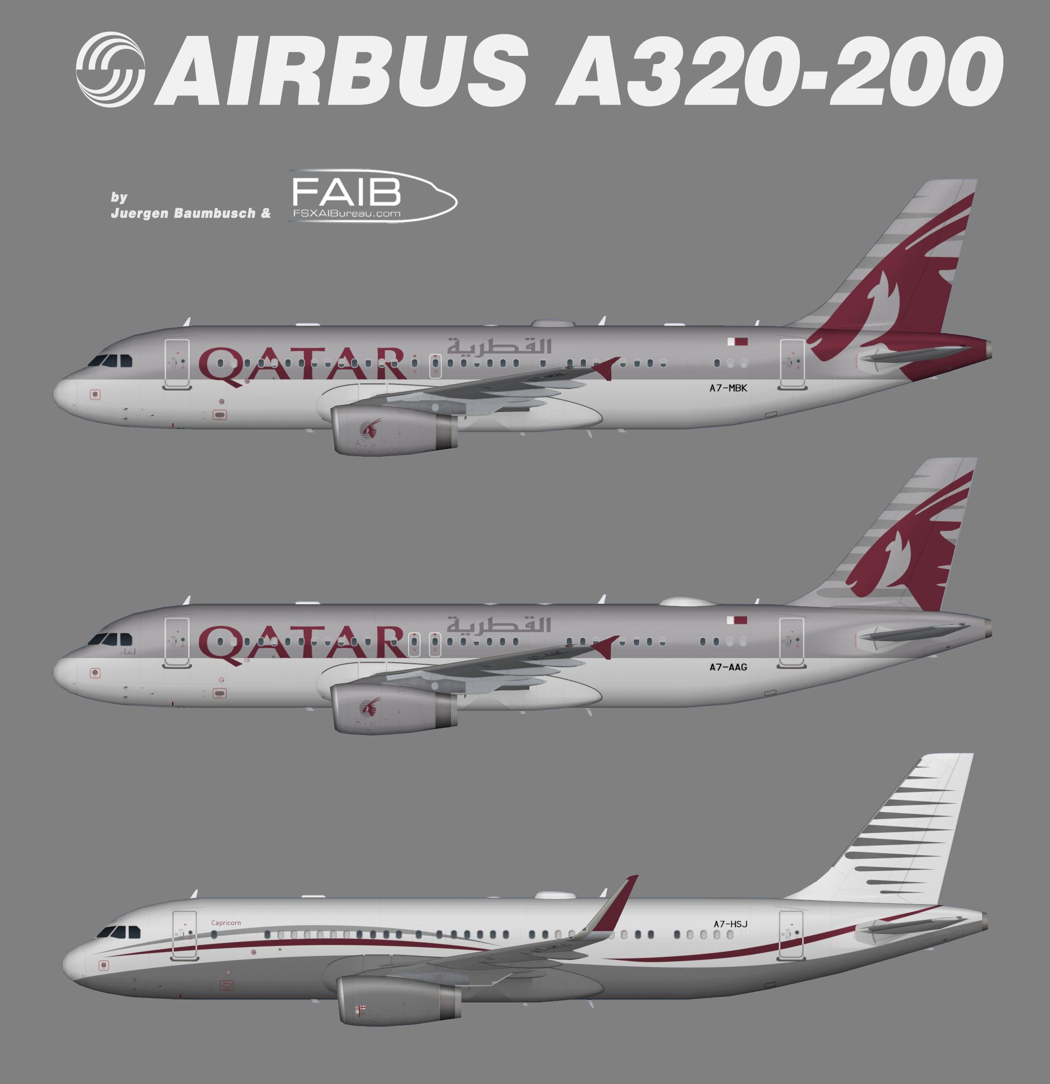 Qatar Amiri Flight Airbus A320