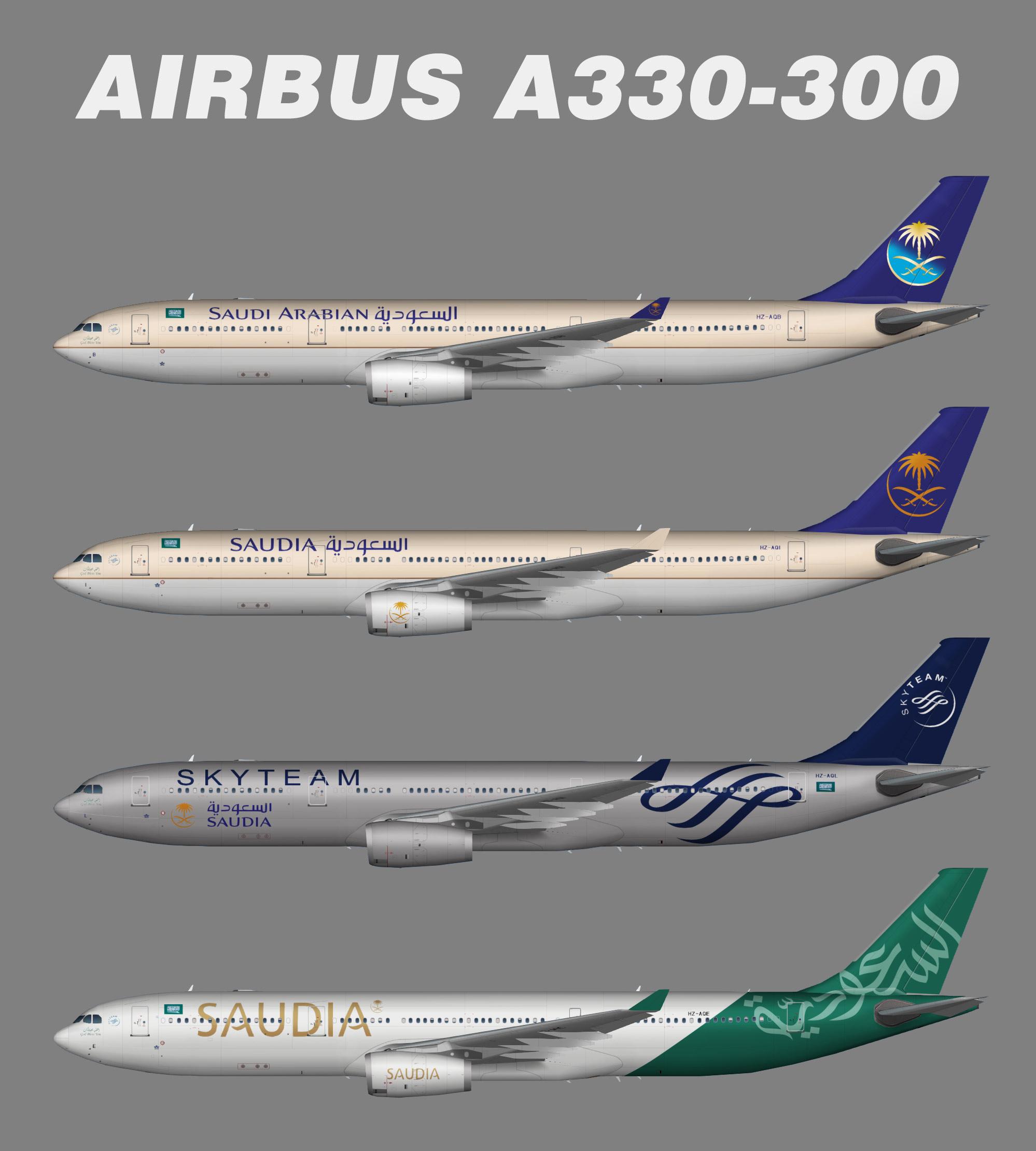 Saudia Airbus A330 300 Juergen S Paint Hangar
