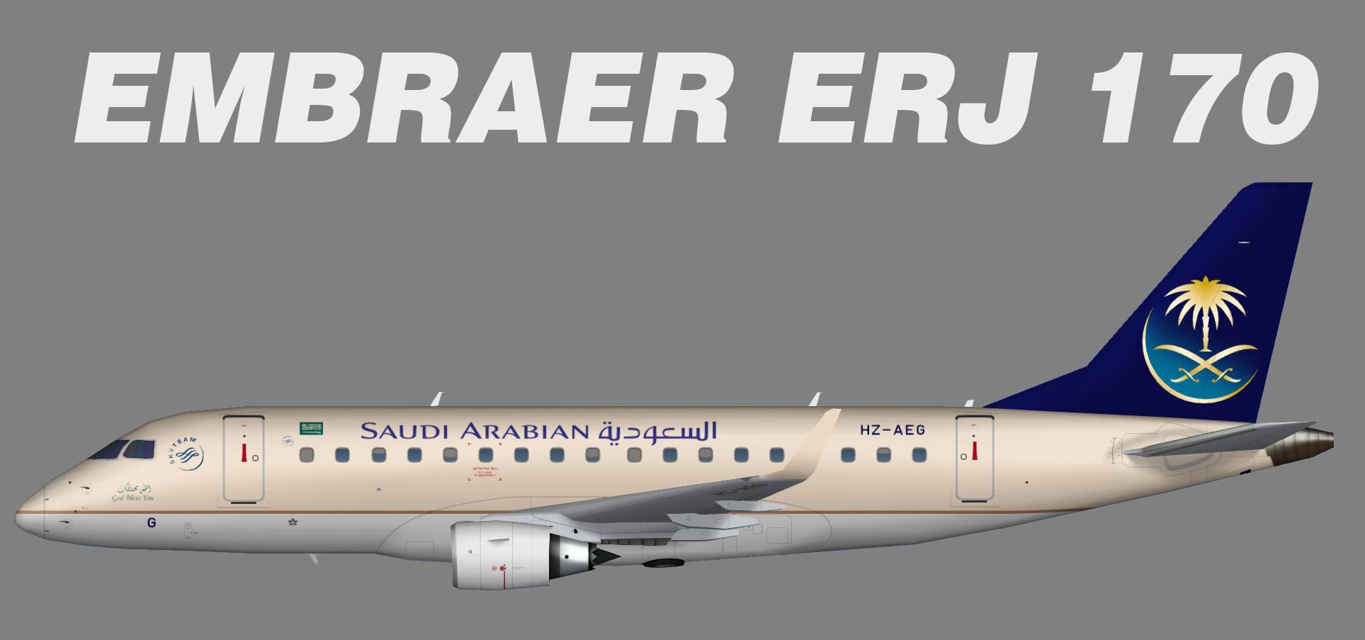 Saudia Embraer ERJ-170
