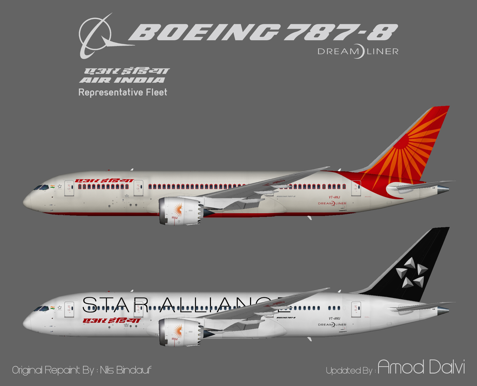 Teaser_Air India_787-8 Dreamliner
