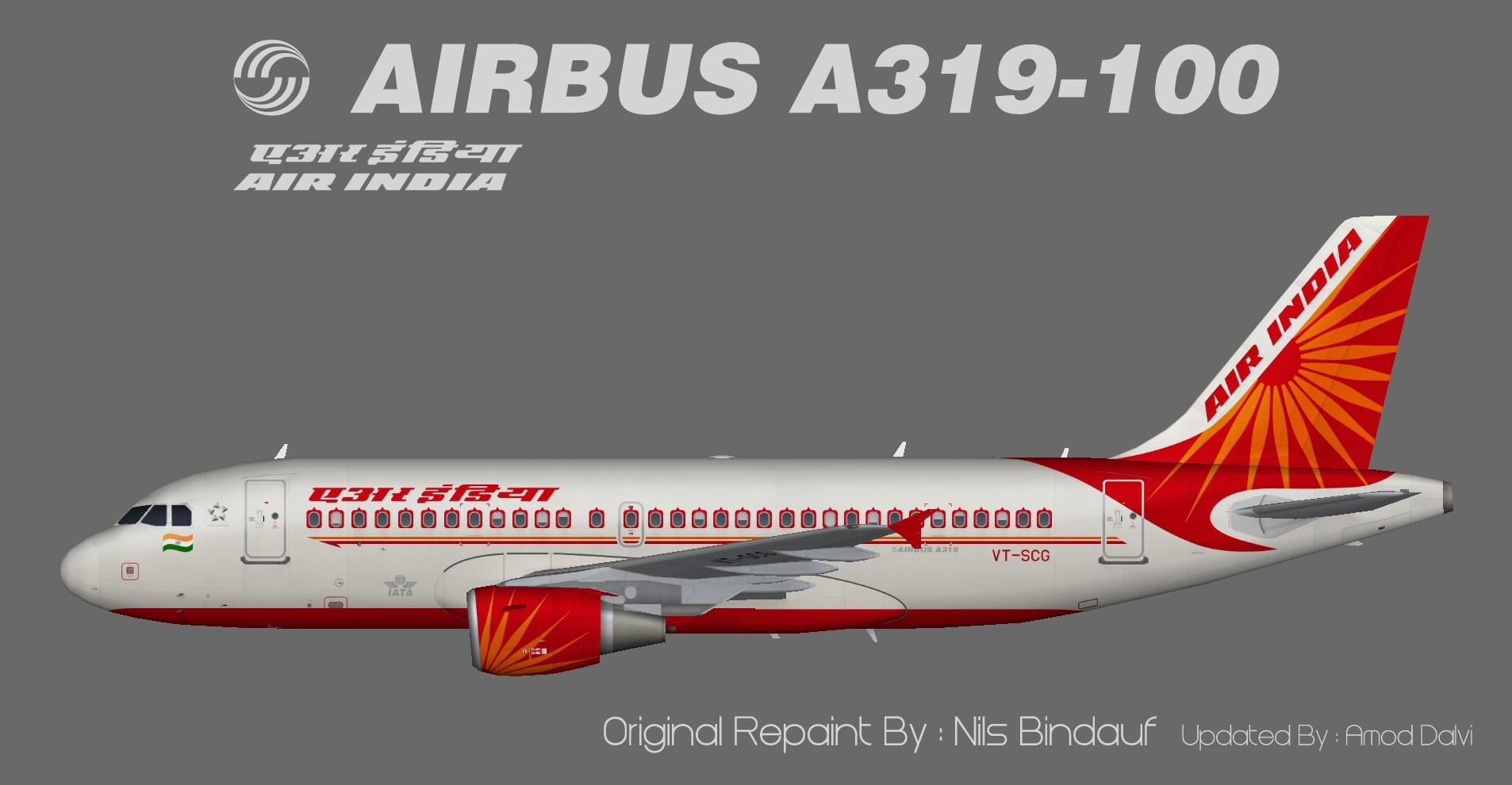 Air India Airbus A319 – Amod/Nils