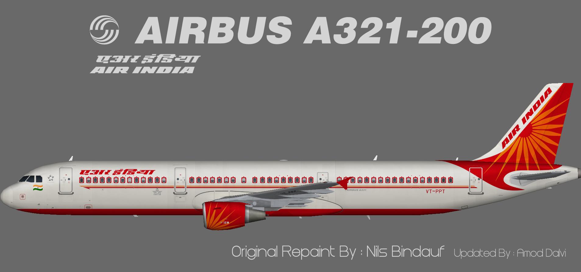 Air India Airbus A321 – Amod/Nils