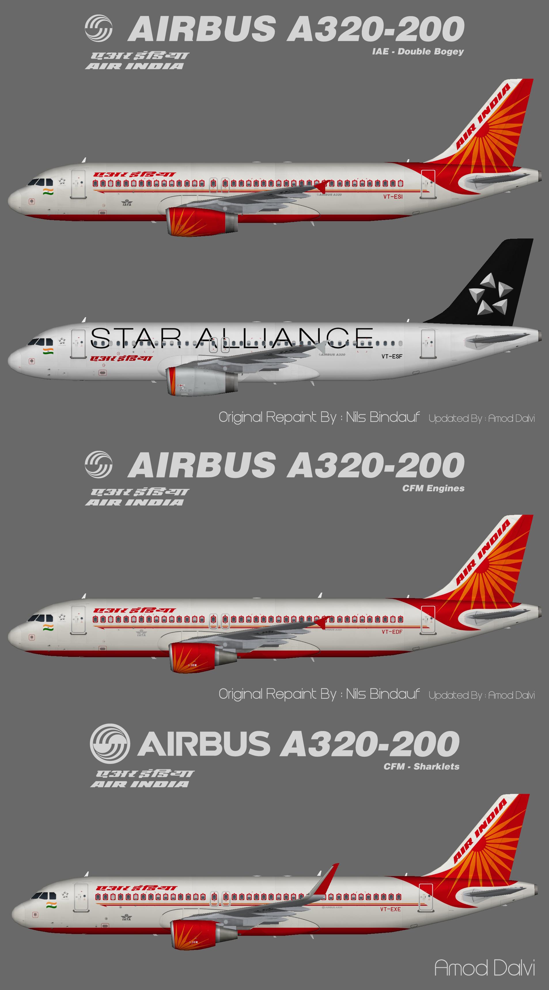 Air India Airbus A320 – Amod/Nils
