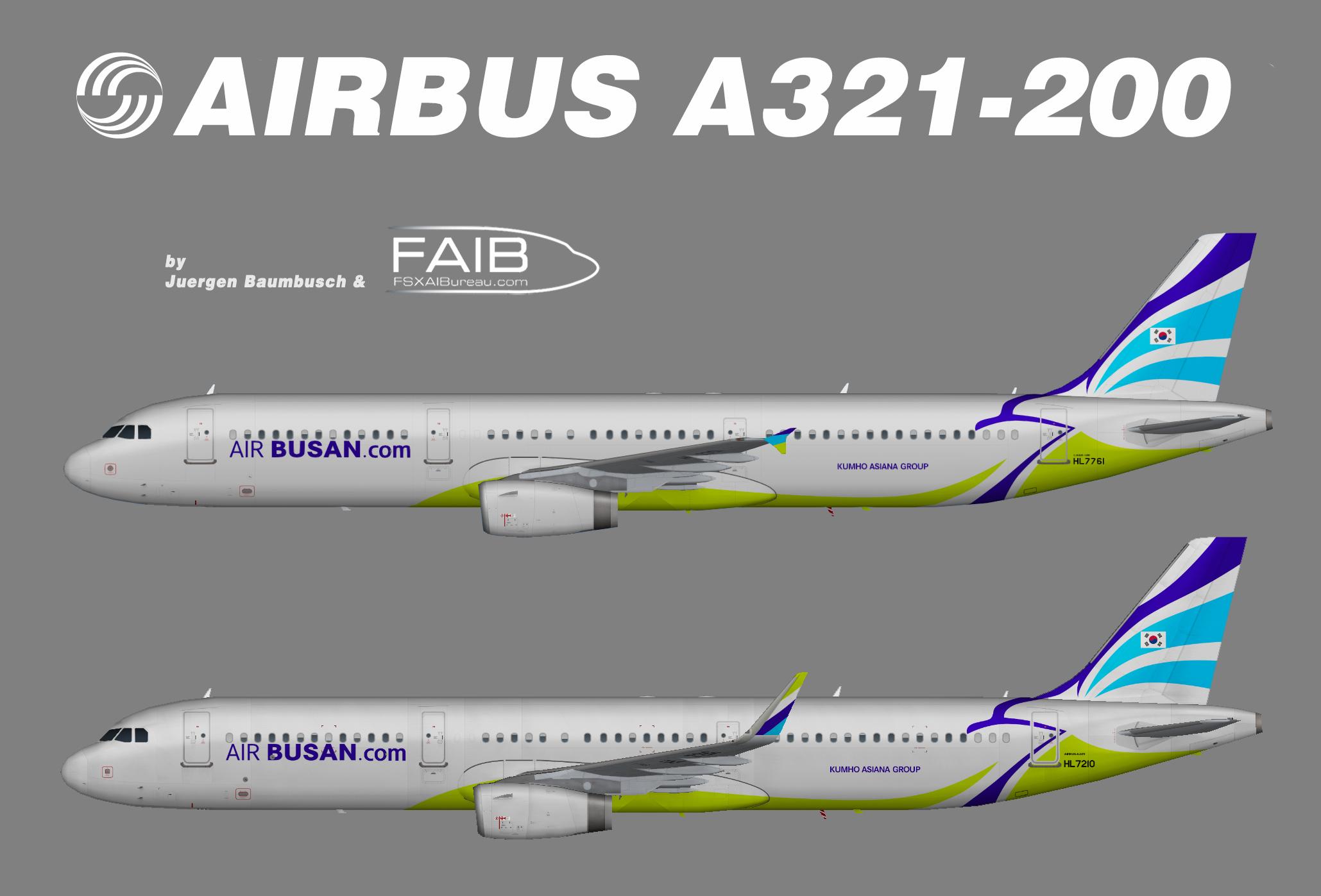 Air Busan Airbus A321