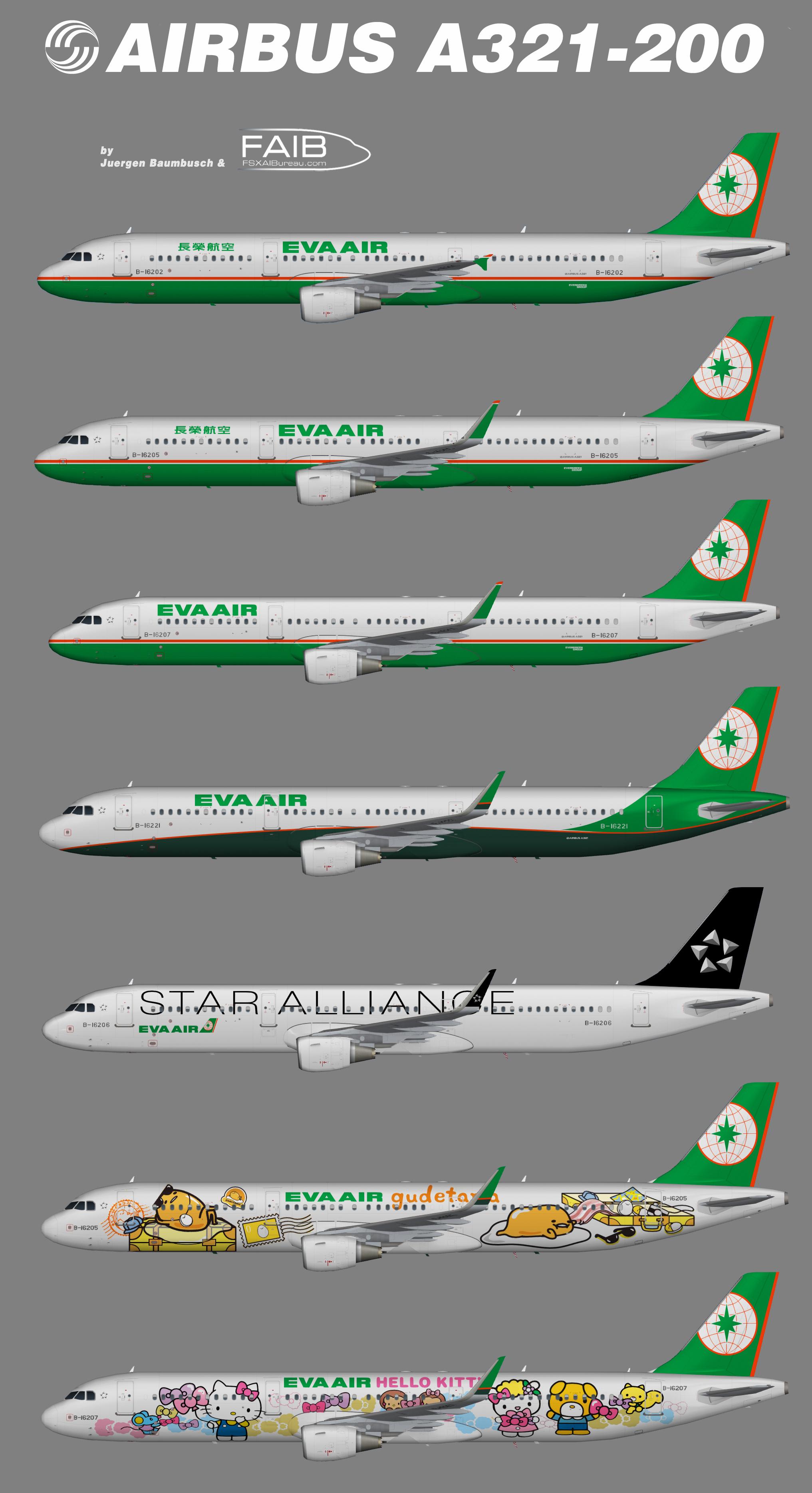 EVA Air Airbus A321-200