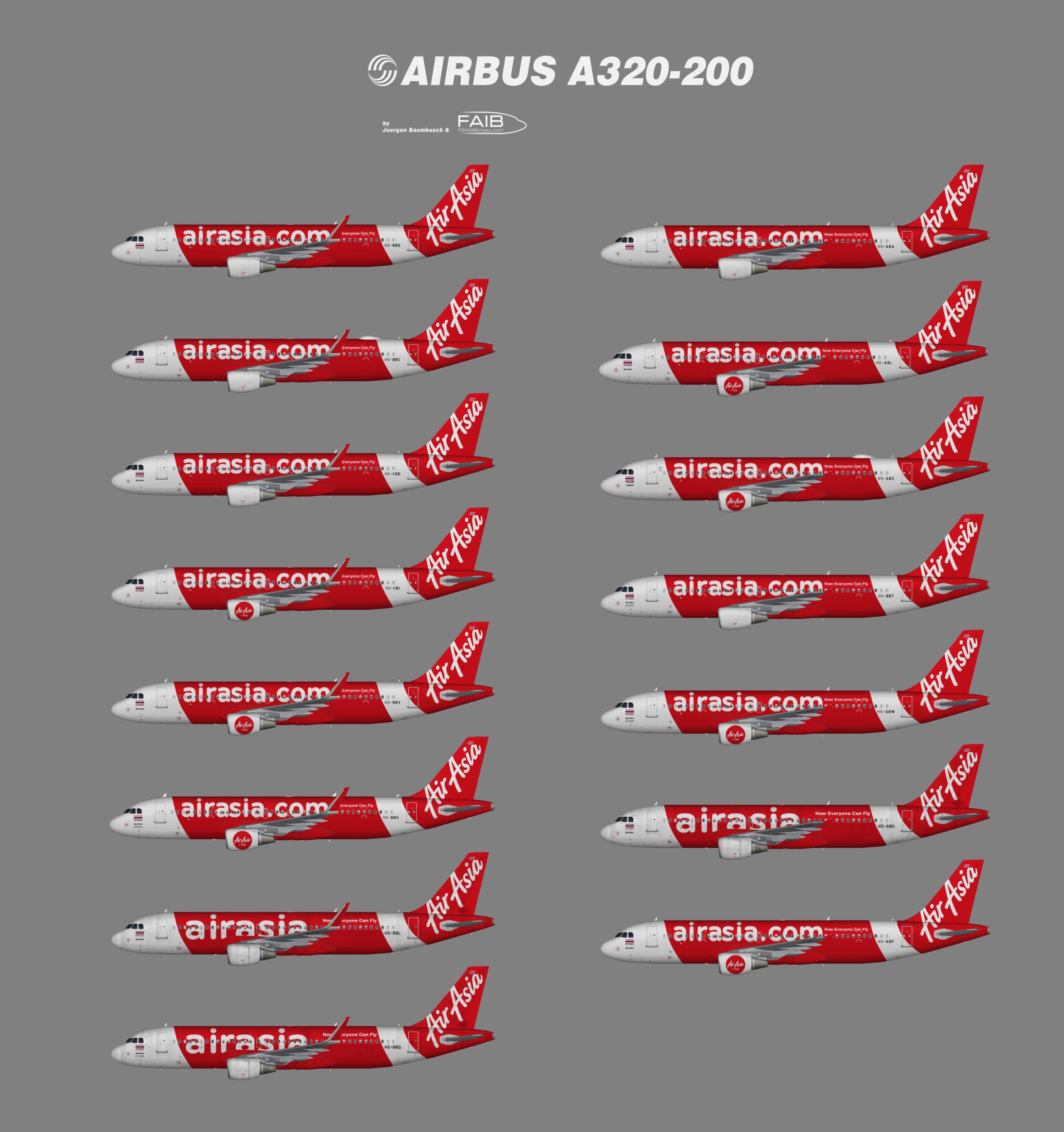 Thai AirAsia Airbus A320-200