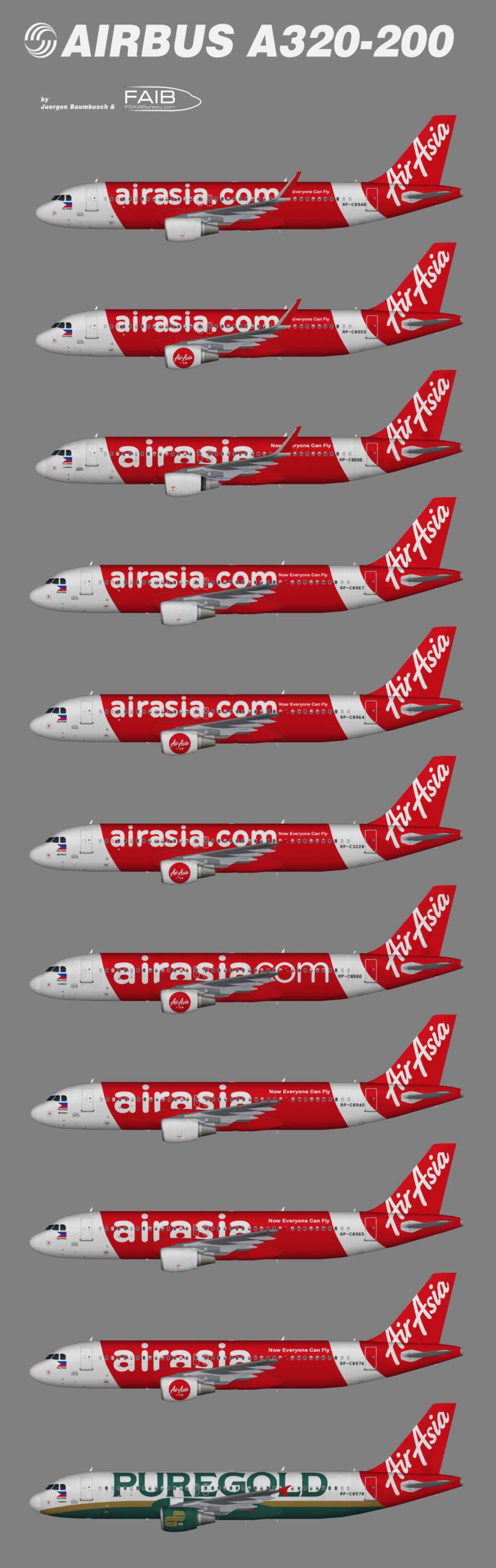 AirAsia Philippines Airbus A320-200