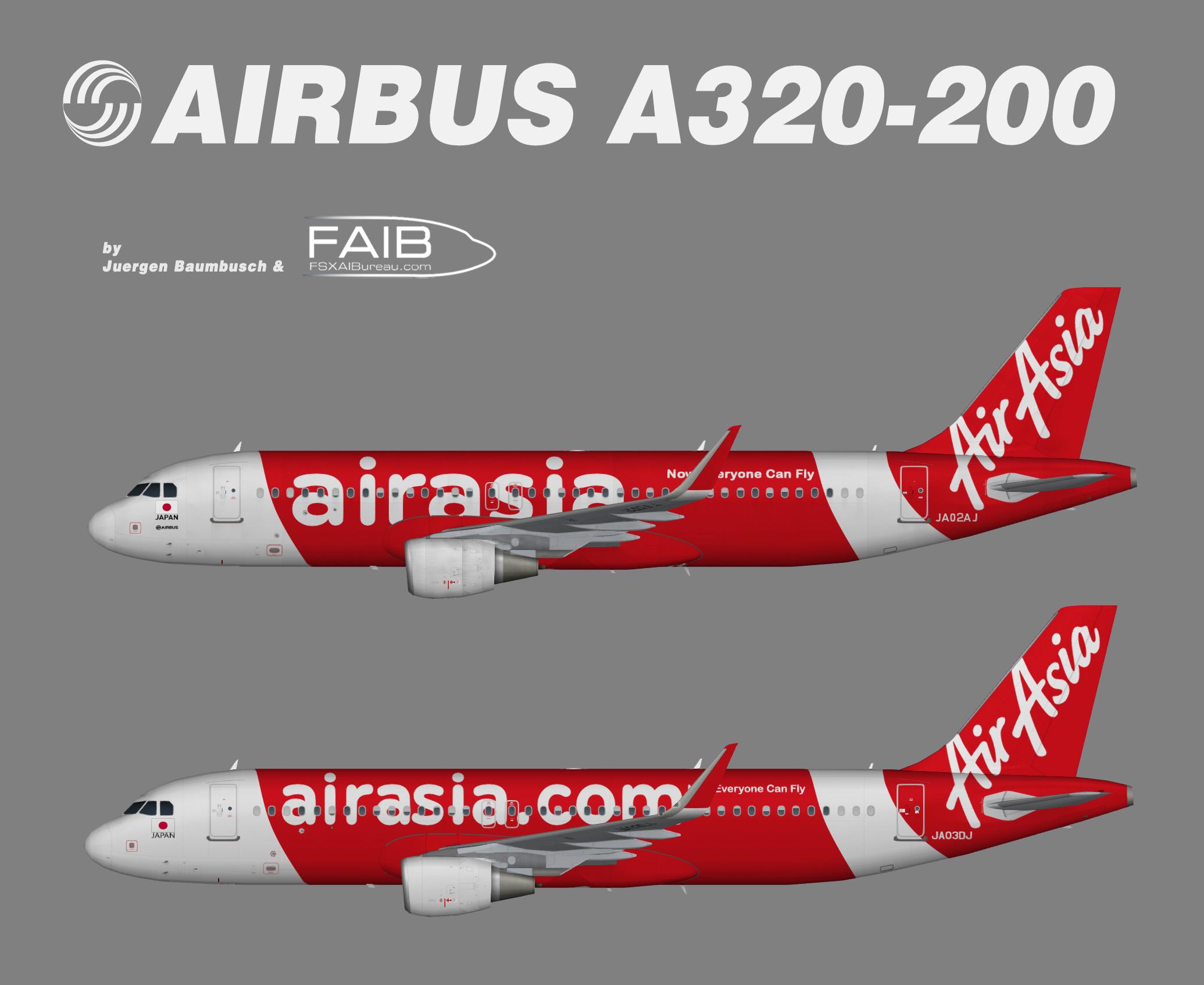AirAsia Japan Airbus A320-200