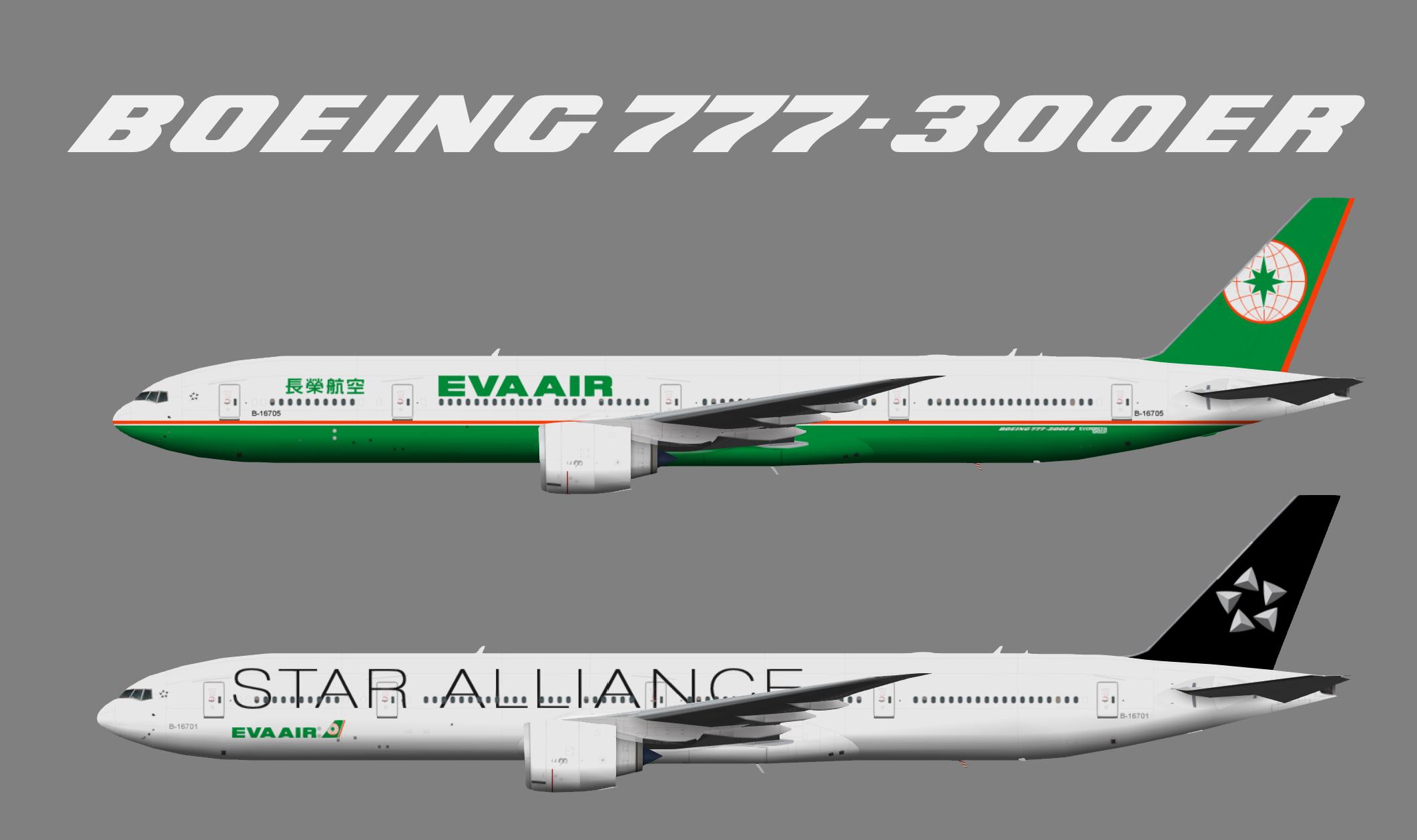 50 S Color Scheme Fsx Eva Air A330