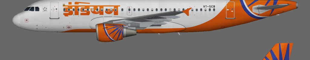 Teaser_Air India_A319_IC Livery