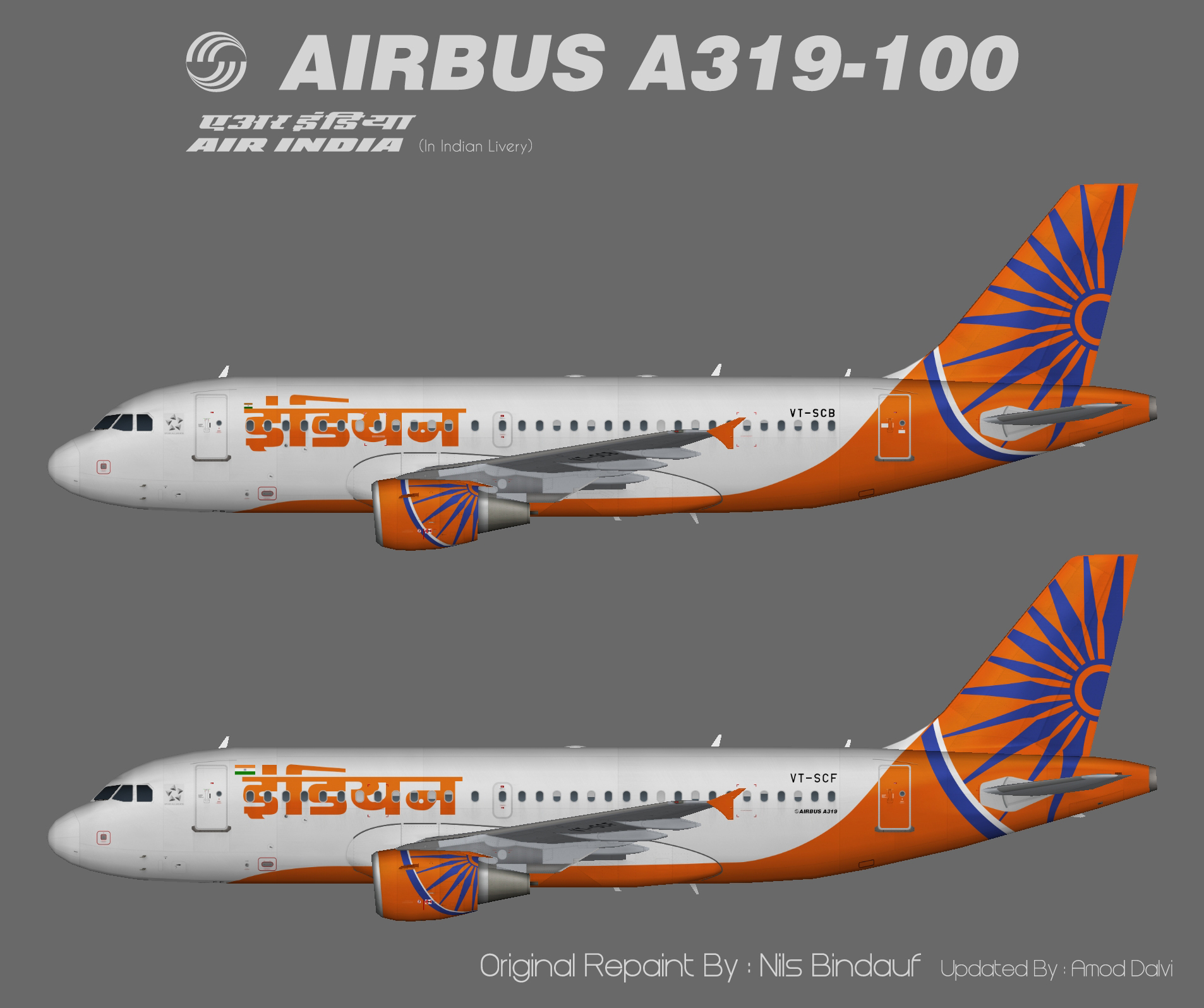 Indian Airlines Airbus A319 – Amod/Nils