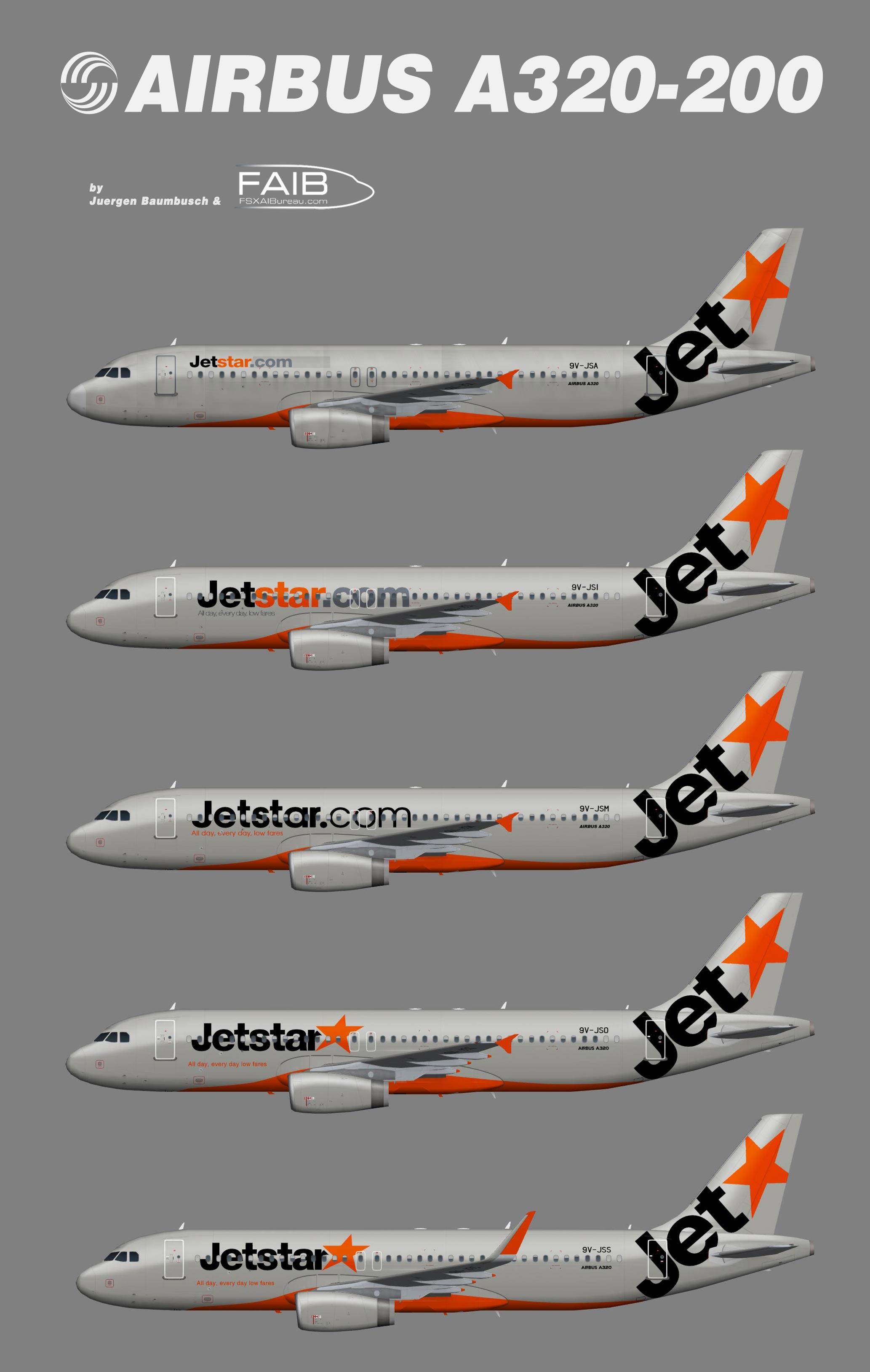 Jetstar Asia Airbus A320-200