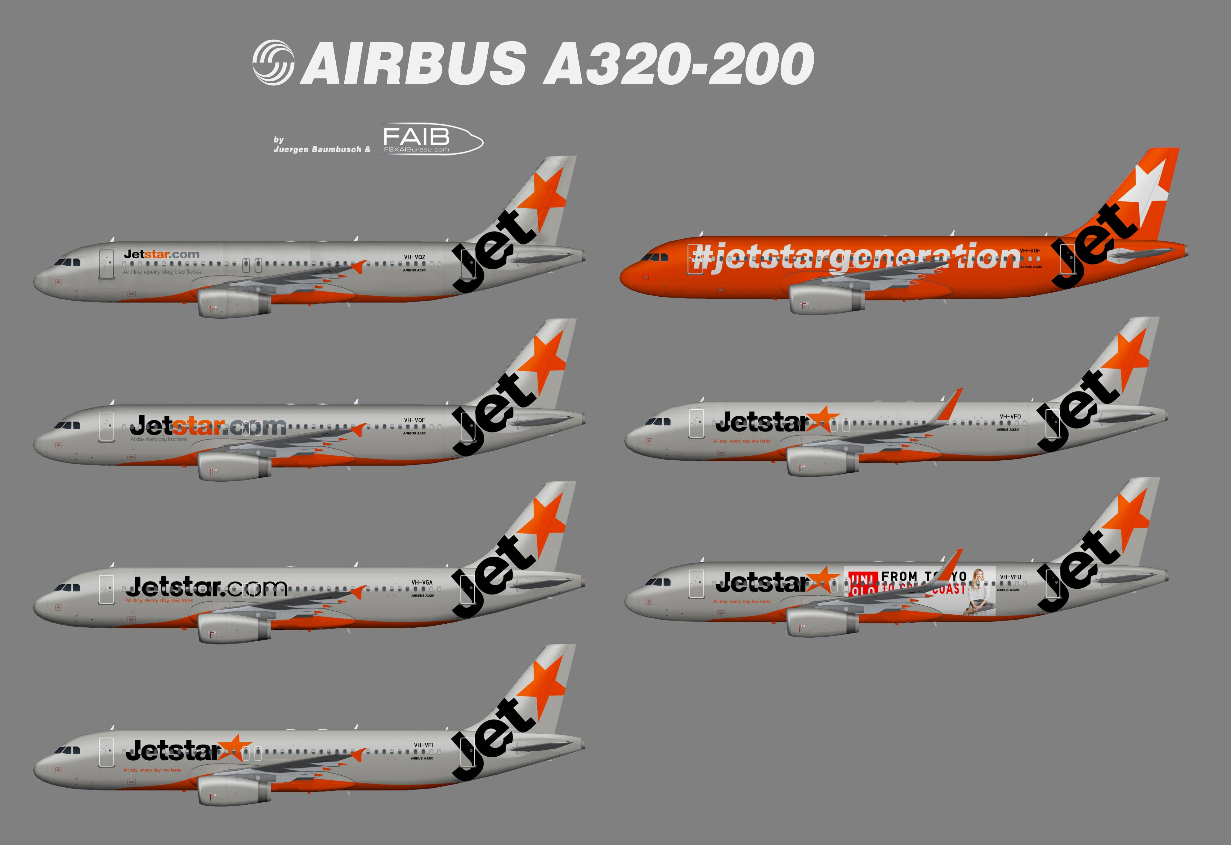 Jetstar Australia Airbus A320-200