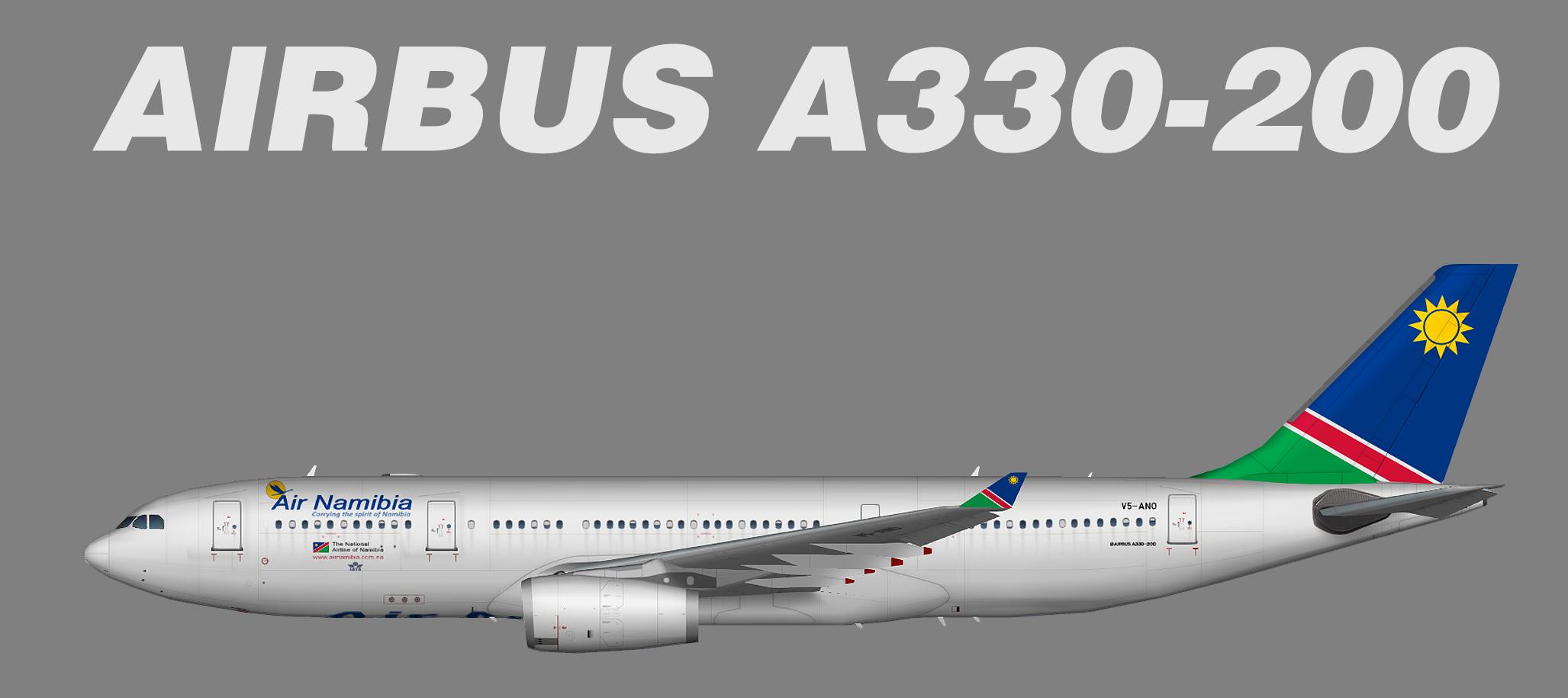 Air Namibia Airbus A330-200