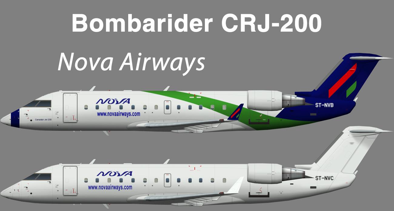 Nova Airways Bombardier CRJ-200 – Nils