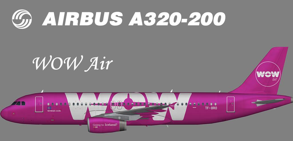 WOW Air Airbus A320-200 – Nils