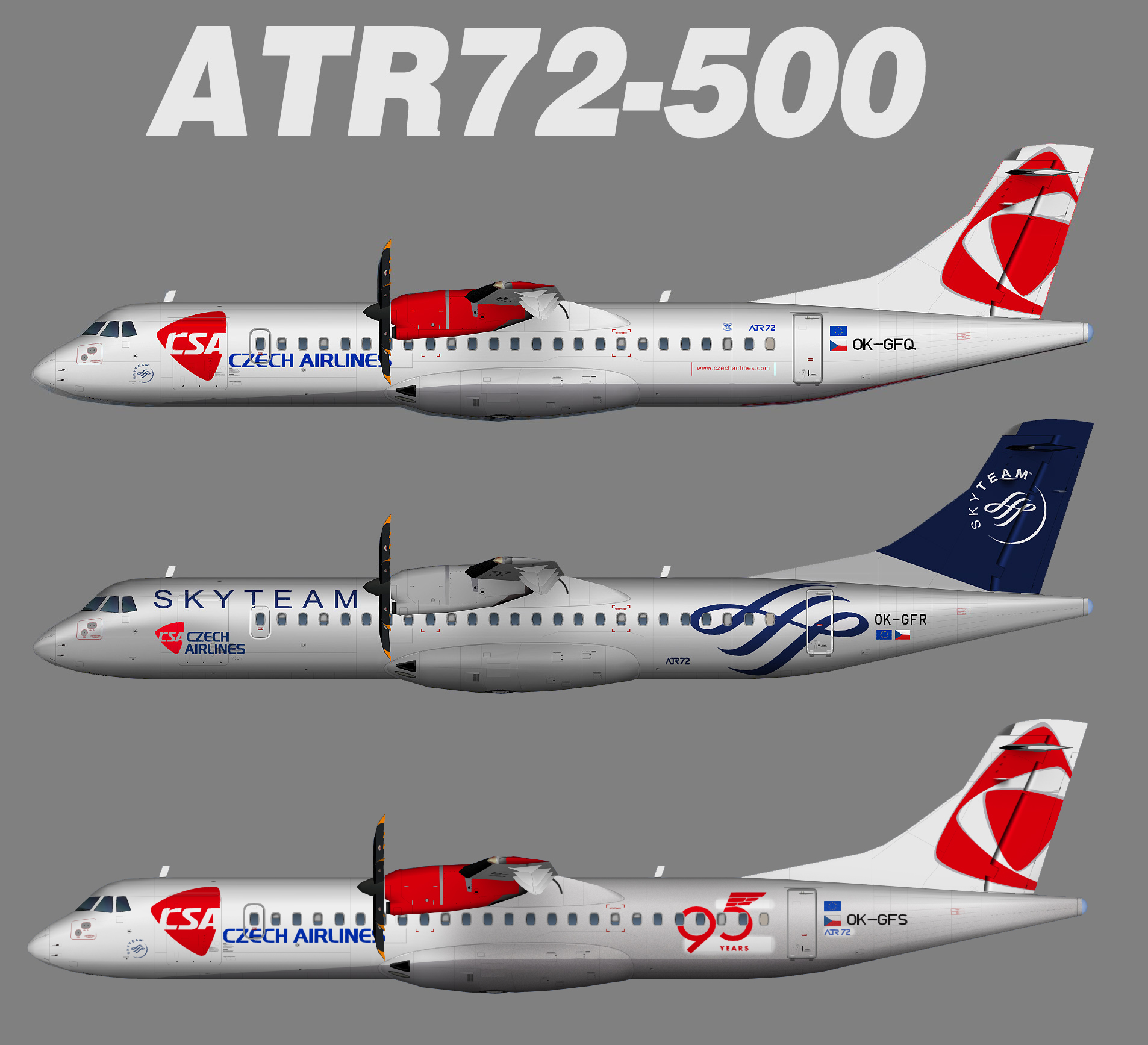 CSA Czech Airlines ATR 72-500