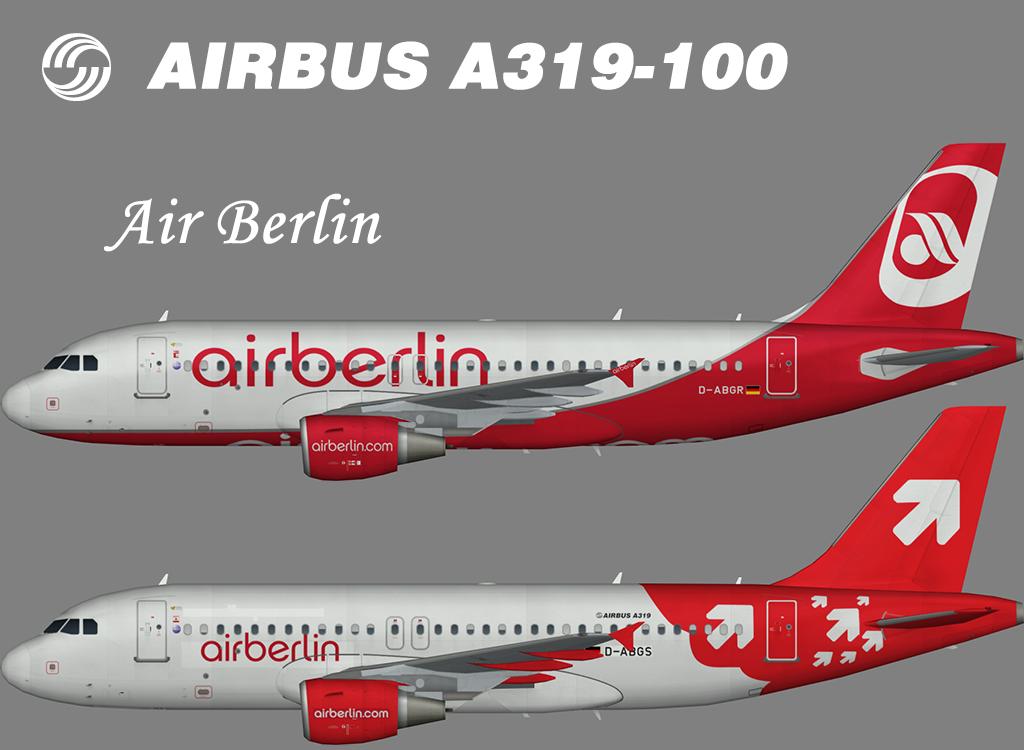 Air Berlin Airbus A319-100 – Nils