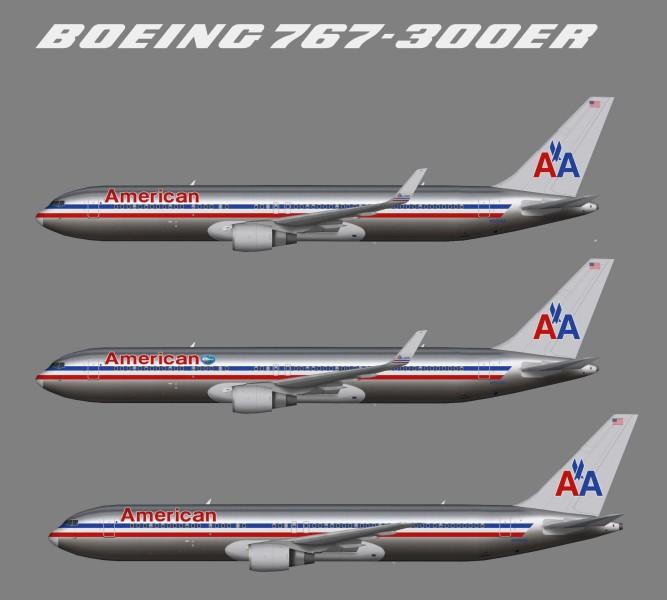 American Airlines – Juergen's paint hangar