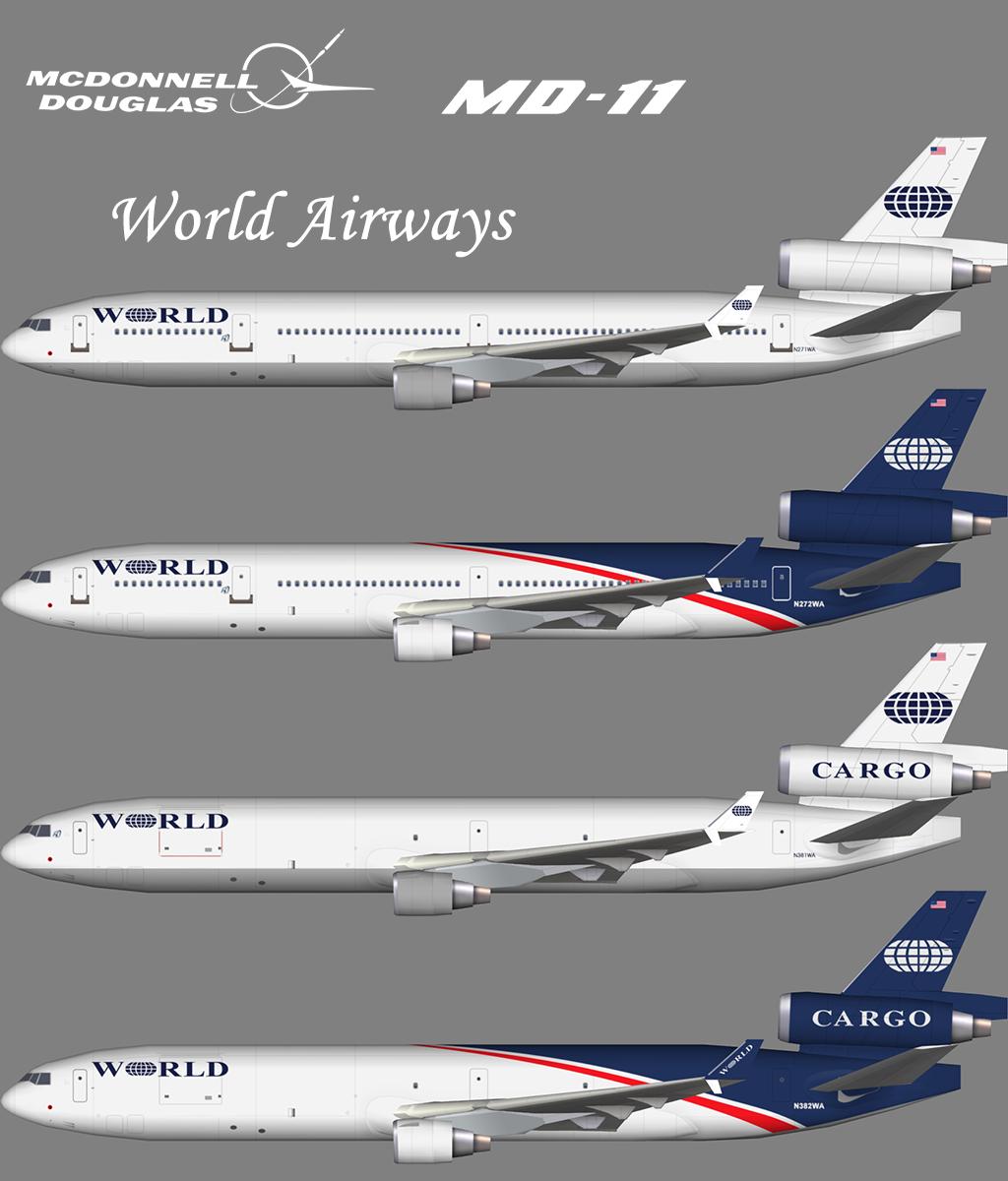 World Airways McDonnell Douglas MD-11 – Nils – Juergen's