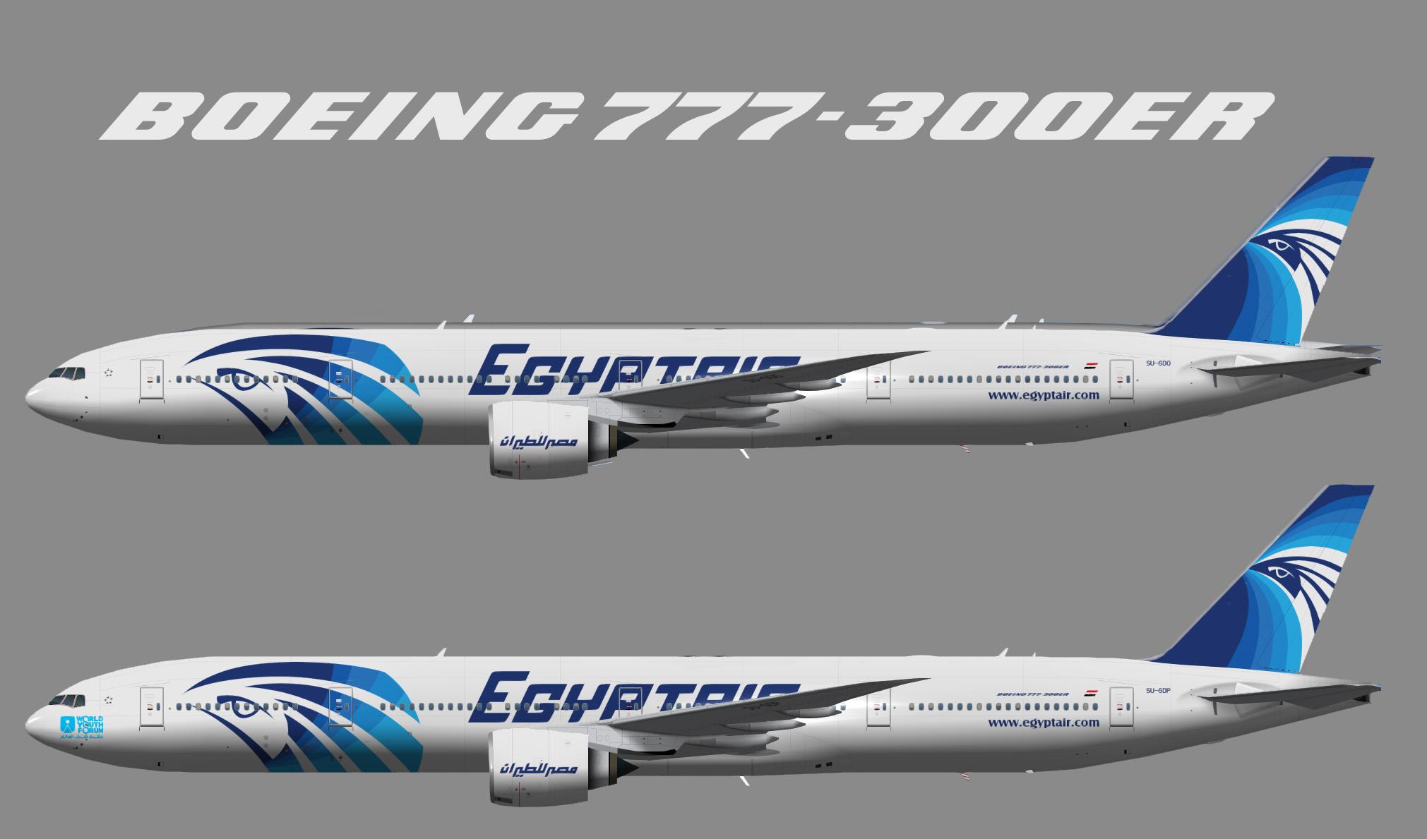 Egyptair Boeing 777-300ER TFS