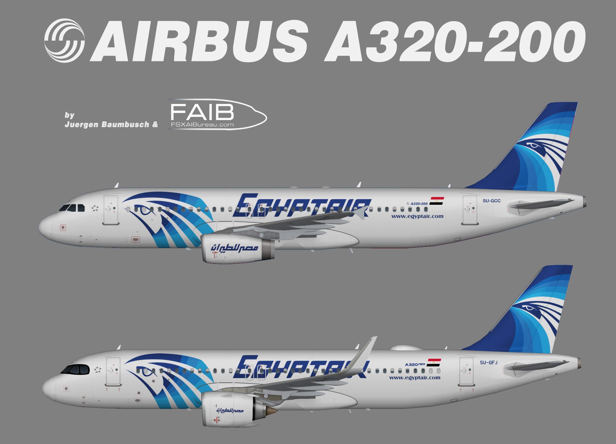 EgyptAir Airbus A320-200